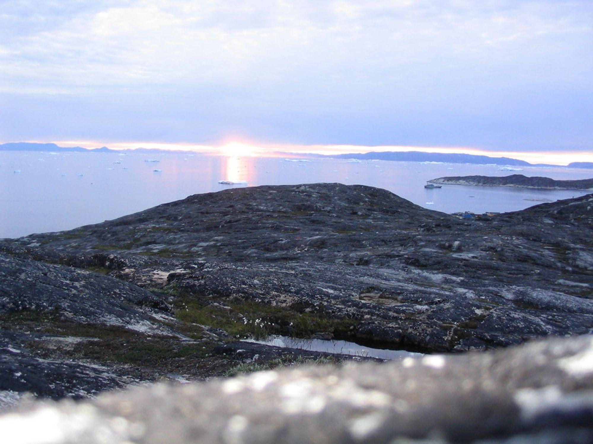 SPENNENDE: Statoil tror havene utenfor Grønland kan gjemme store olje- og gassforekomster.