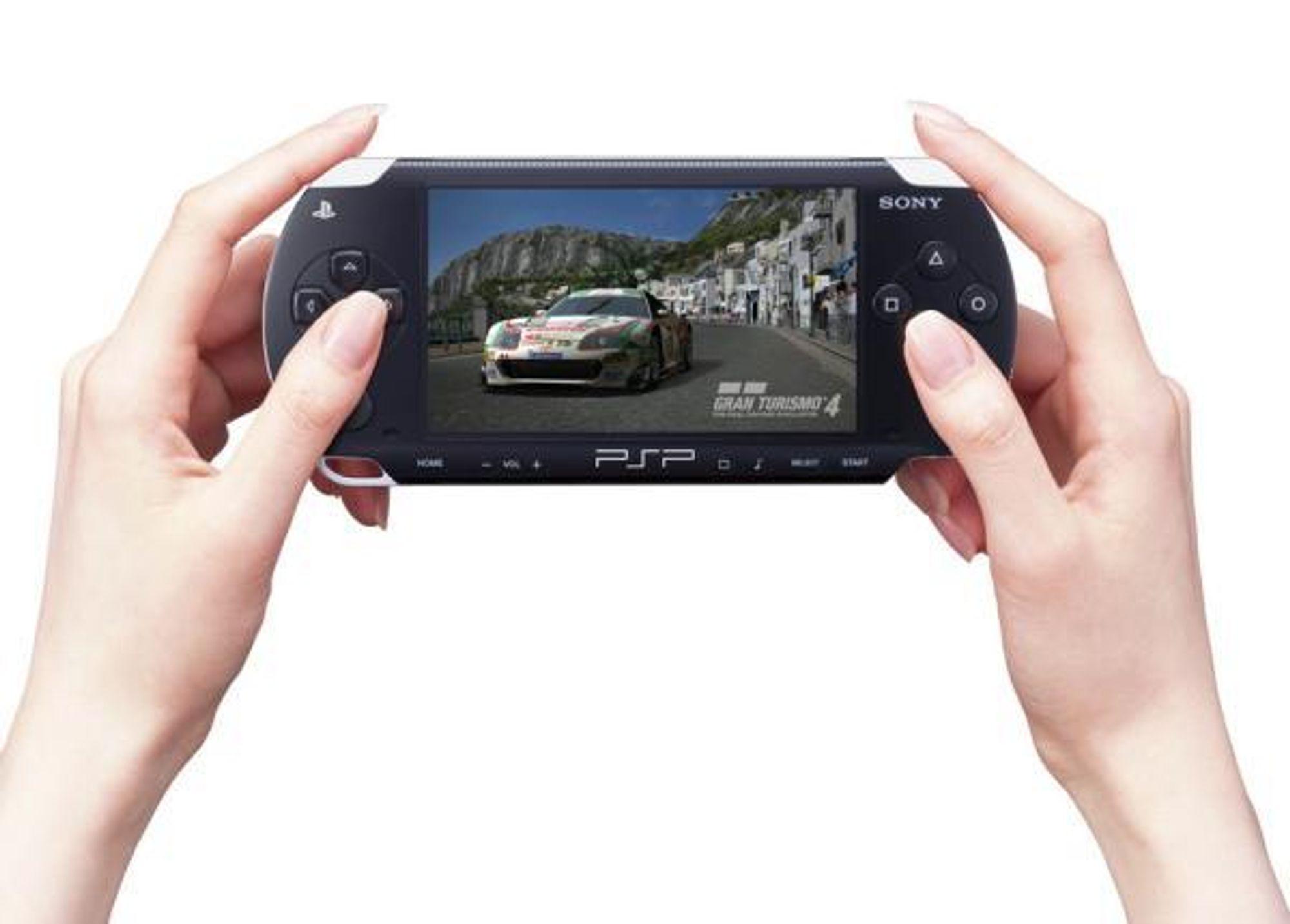 PSP: Snart kan du komme til å ringe med den.