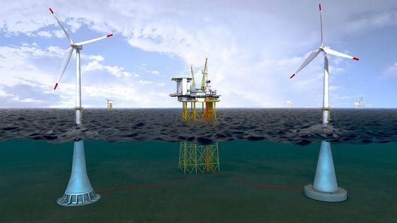 Betongfundamenter for havvind, Vici Ventus, prosjektert av Dr. techn. Olav Olsen