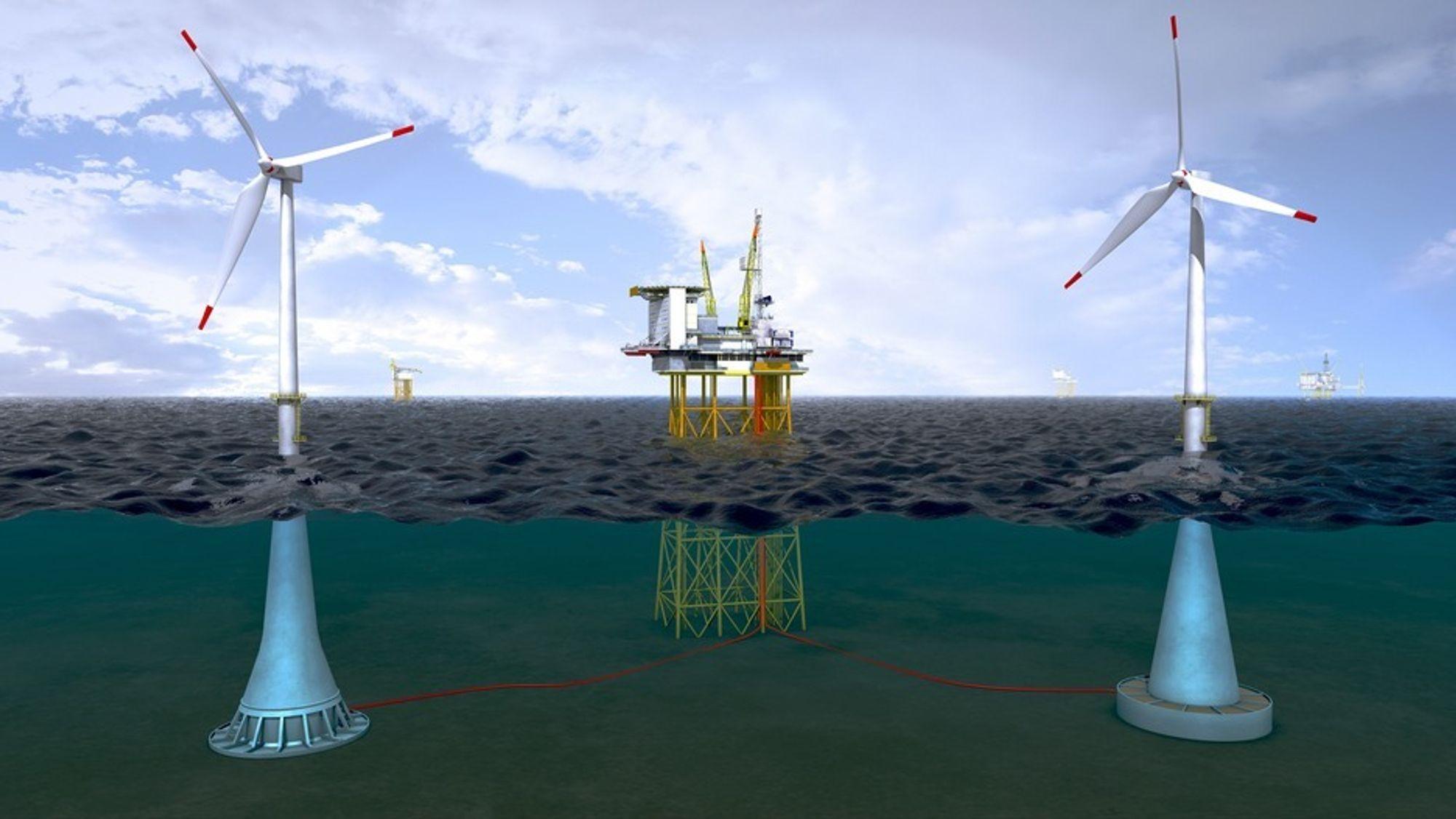 Offshore vindkraft er svært dyrt, nå øker regjeringen satsingen på teknologiutvikling.