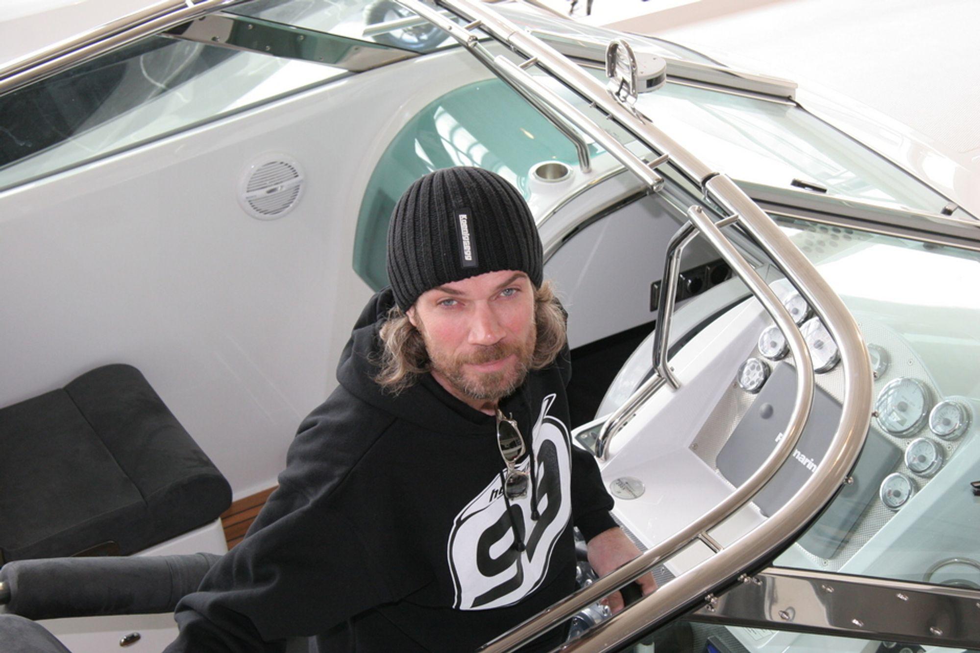 EIER: Bård Eker er største eier i Koenigsegg, som trolig overtar Saab. Men han vil ikke si så mye om saken.