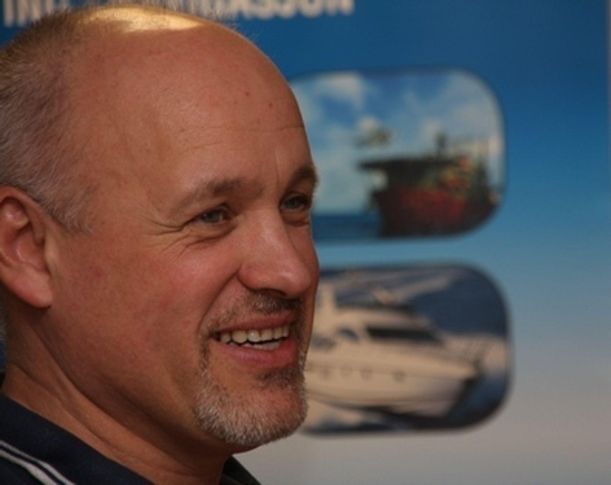 Fler: Gunnar Meyer i komiteen for båtmessa i Sandnessjøen kan melde om større pågang i år.