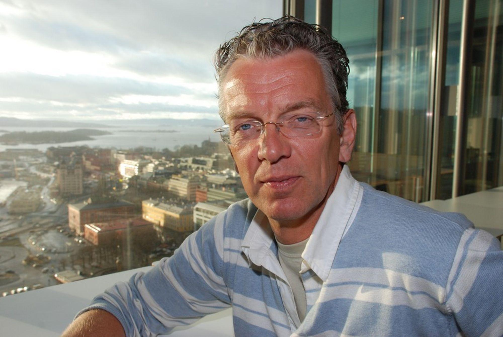 Statnett-direktør Auke Lont må innse at resultatene synker i forhold til fjoråret.