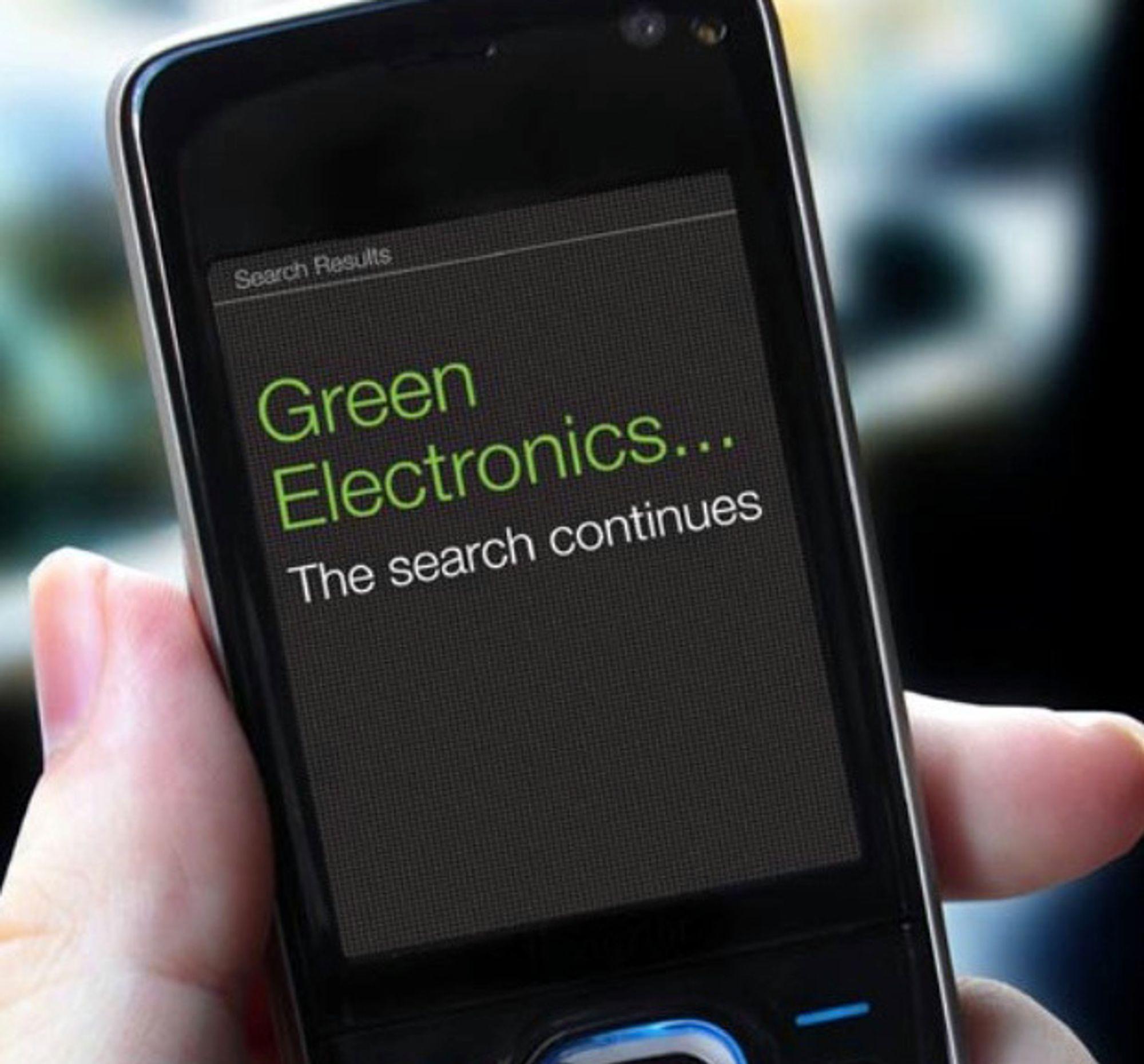 Greenpeace er stadig på leting etter mer miljøvennlige elektronikkprodukter. En Lenovo-skjerm er årets beste på miljøfronten.