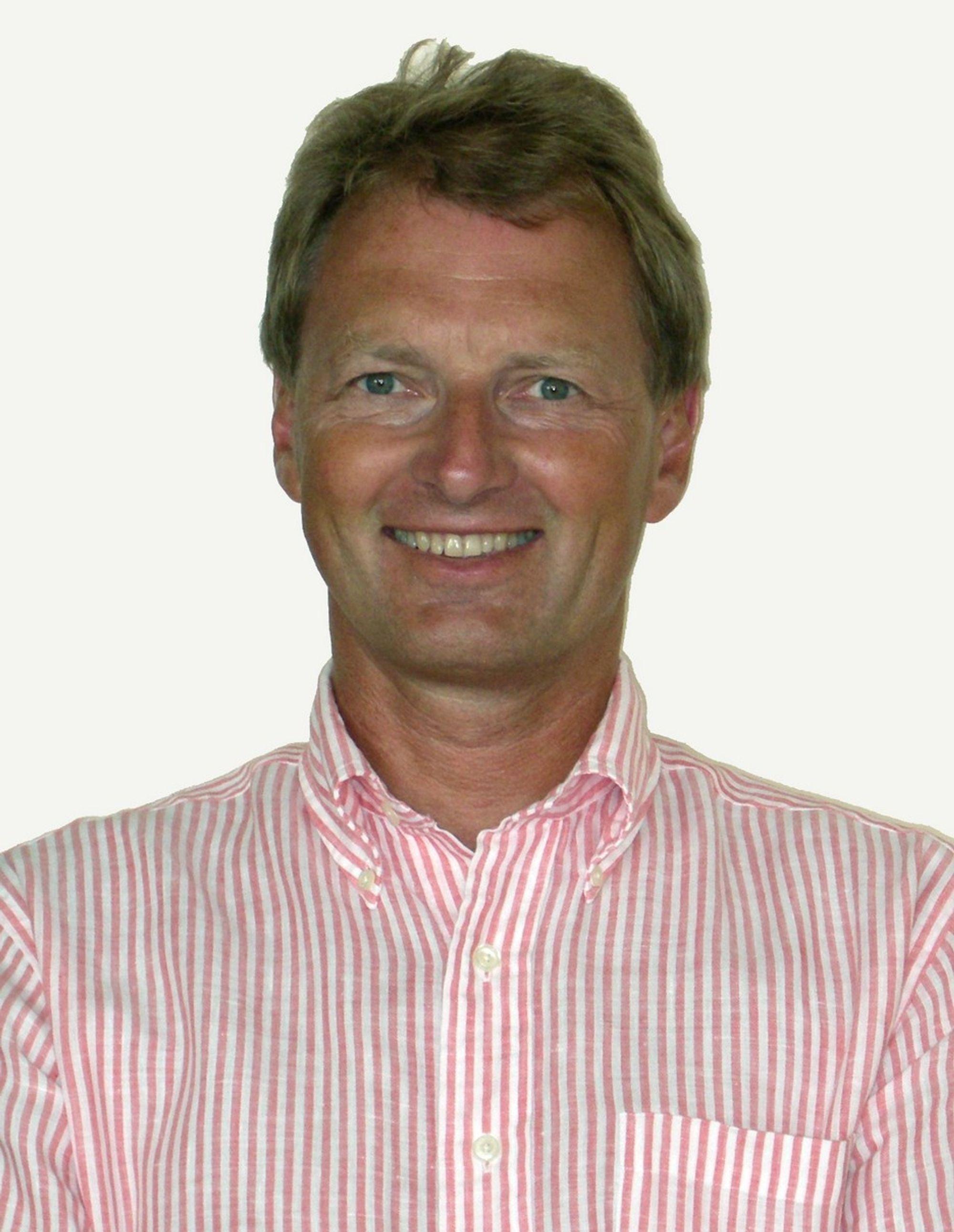 PLANLAGT OPPRYKK: Øyvind Mork, administrerende direktør i Asplan Viak rykker opp fra nestleder til styreleder for RIF.