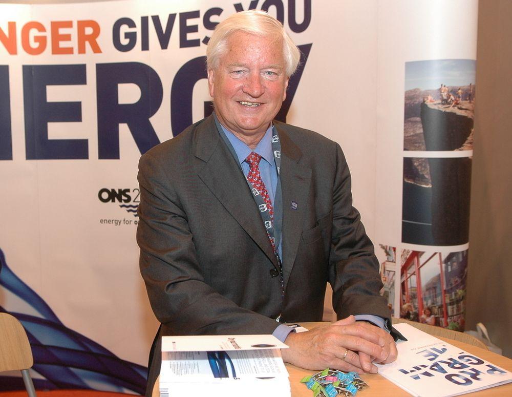 Administrerende direktør i Stiftelsen ONS, Kjell Ursin-Smith, venter ny besøksrekord under ONS 2008.