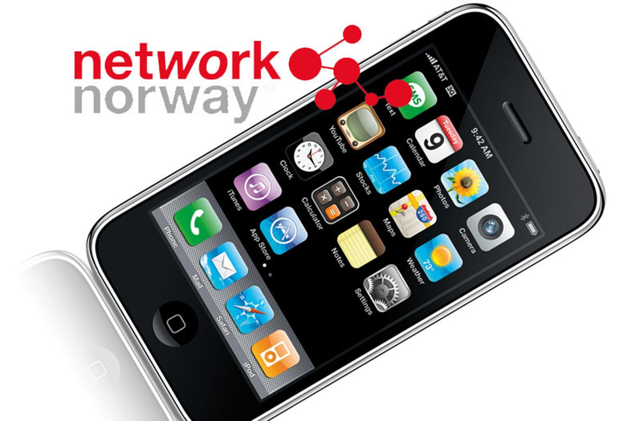Network Norway selger iPhone