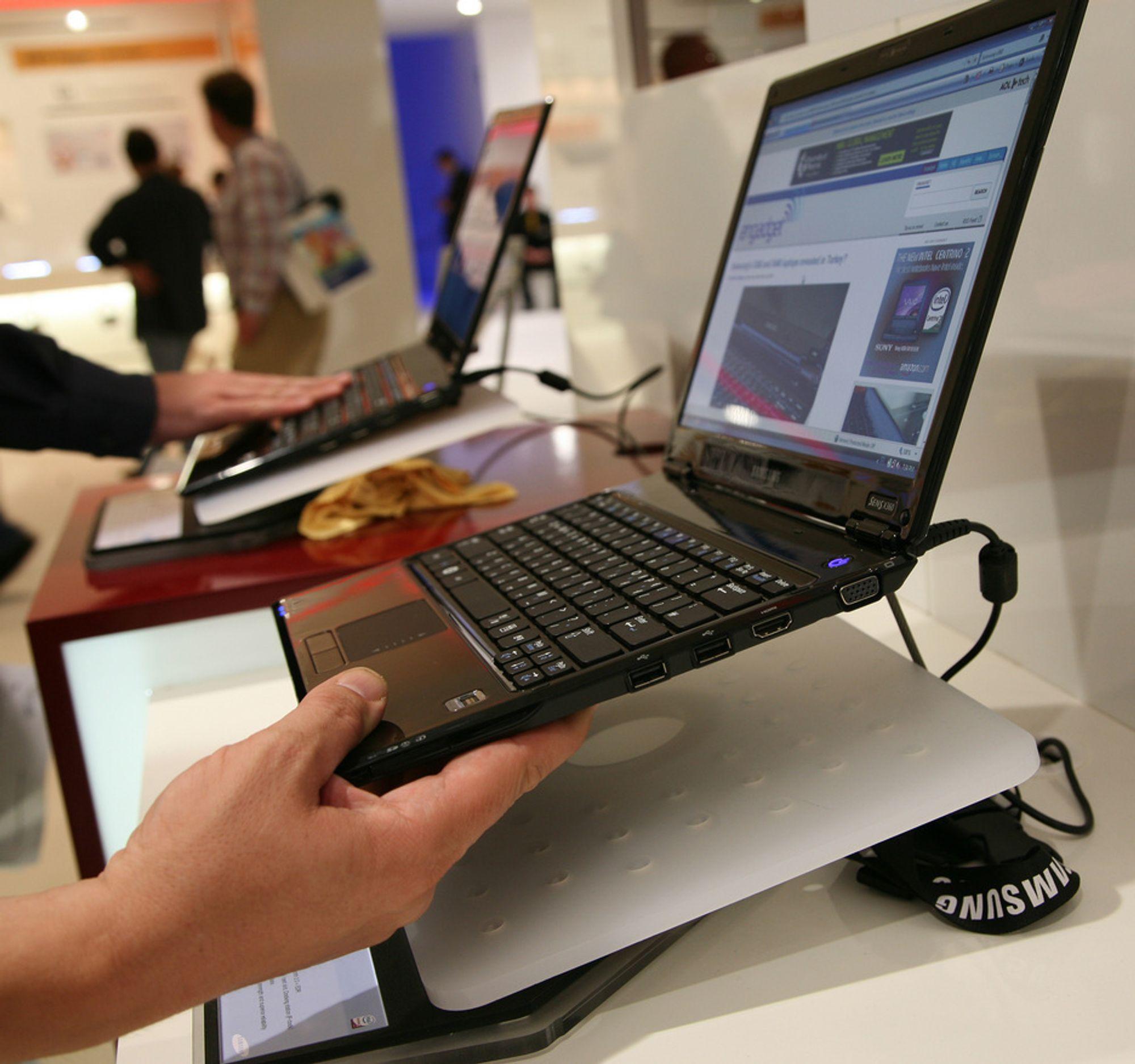 IFA: Samsung lanserte X360, en superlett og svært tynn laptop som skal ta opp kampen med Apples Macbook Air.