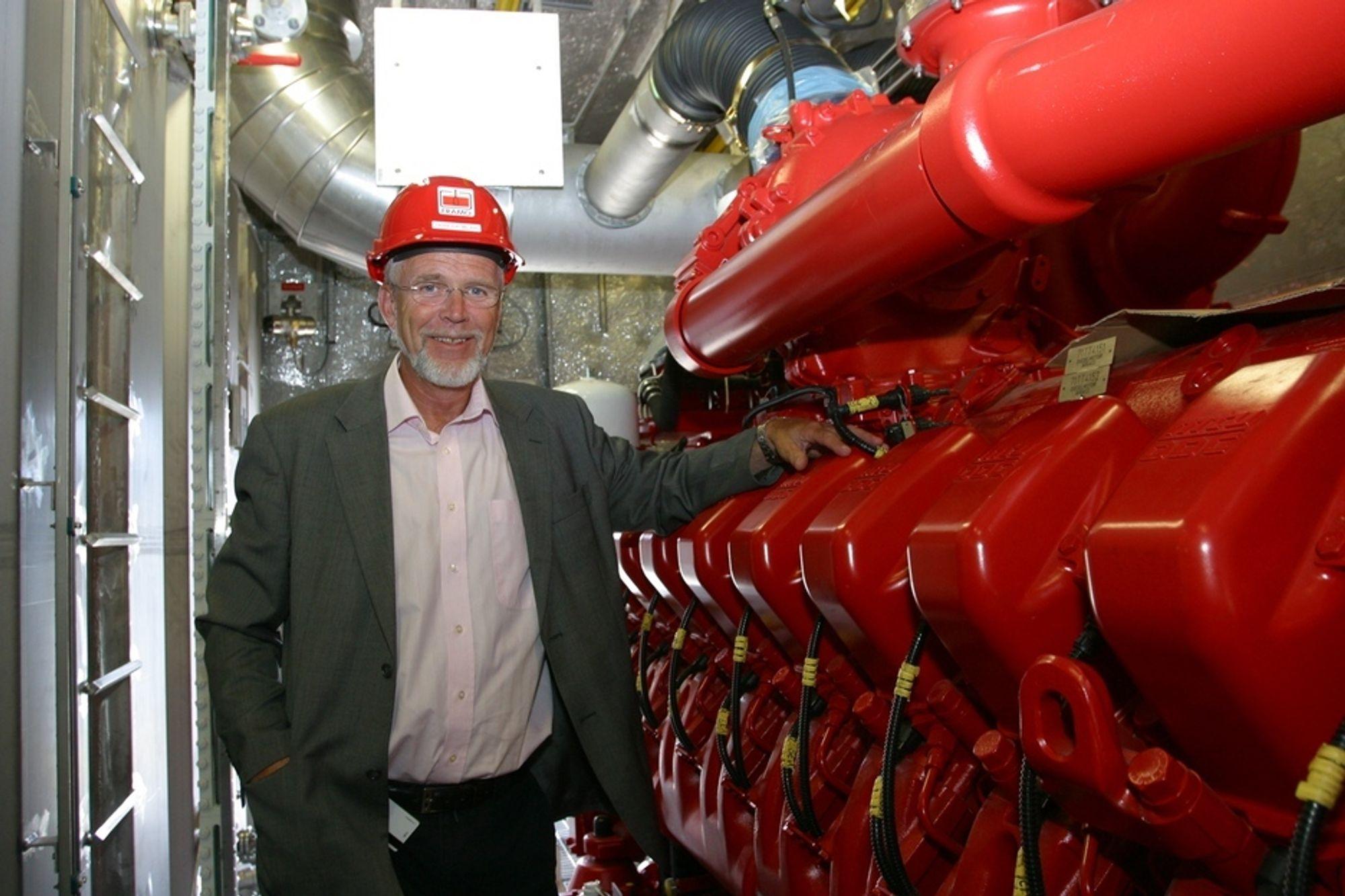 LØNNSOMT: Lav oljepris har gjort at flere land nå ønsker å lagre store volum olje under bakken, forteller salgssjef Frode Hjelmeland.