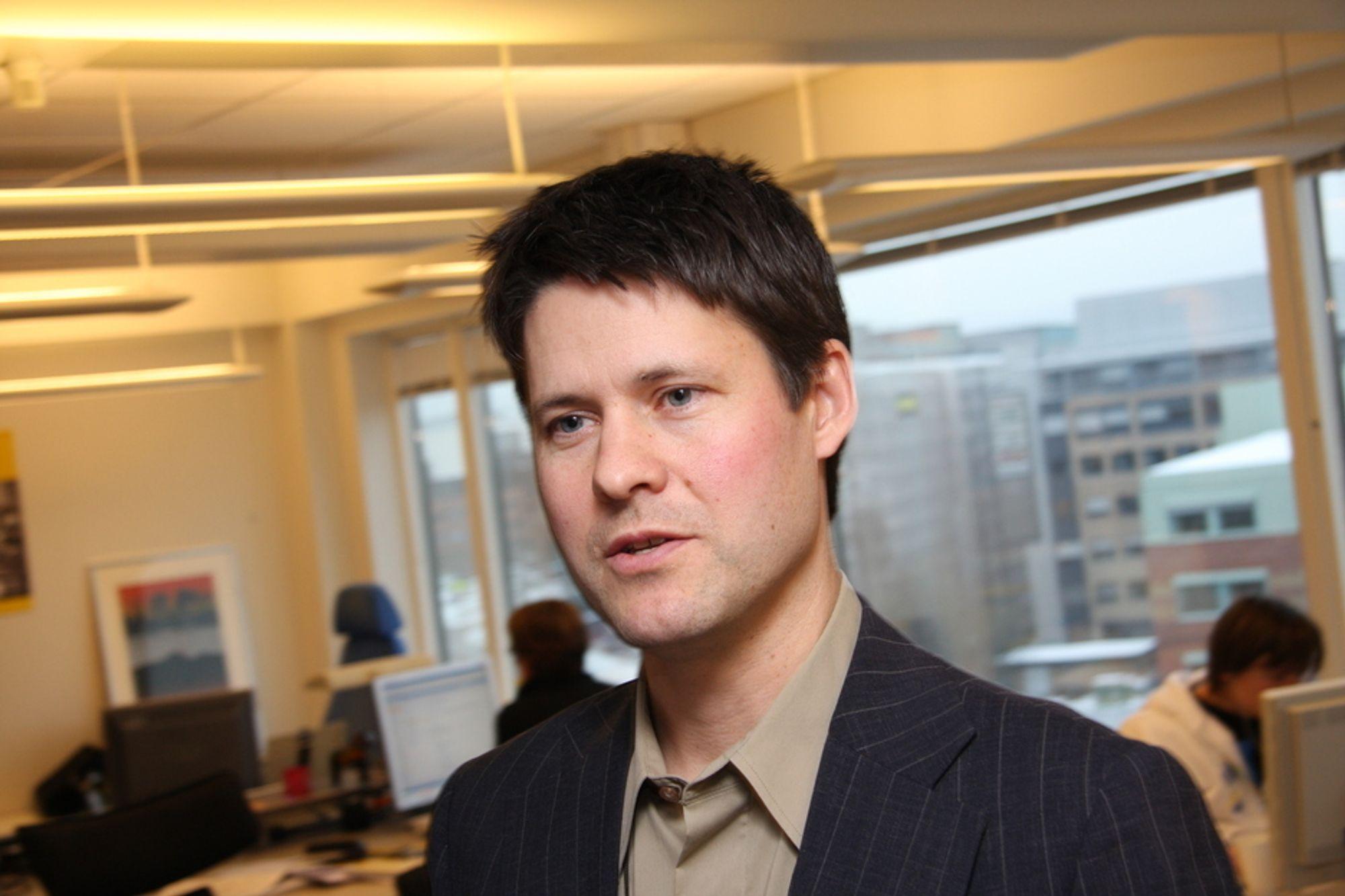 STOR: Logica og divisjonsdirektør Geir Glømmi har sikret seg store kontrakter de siste par månedene.