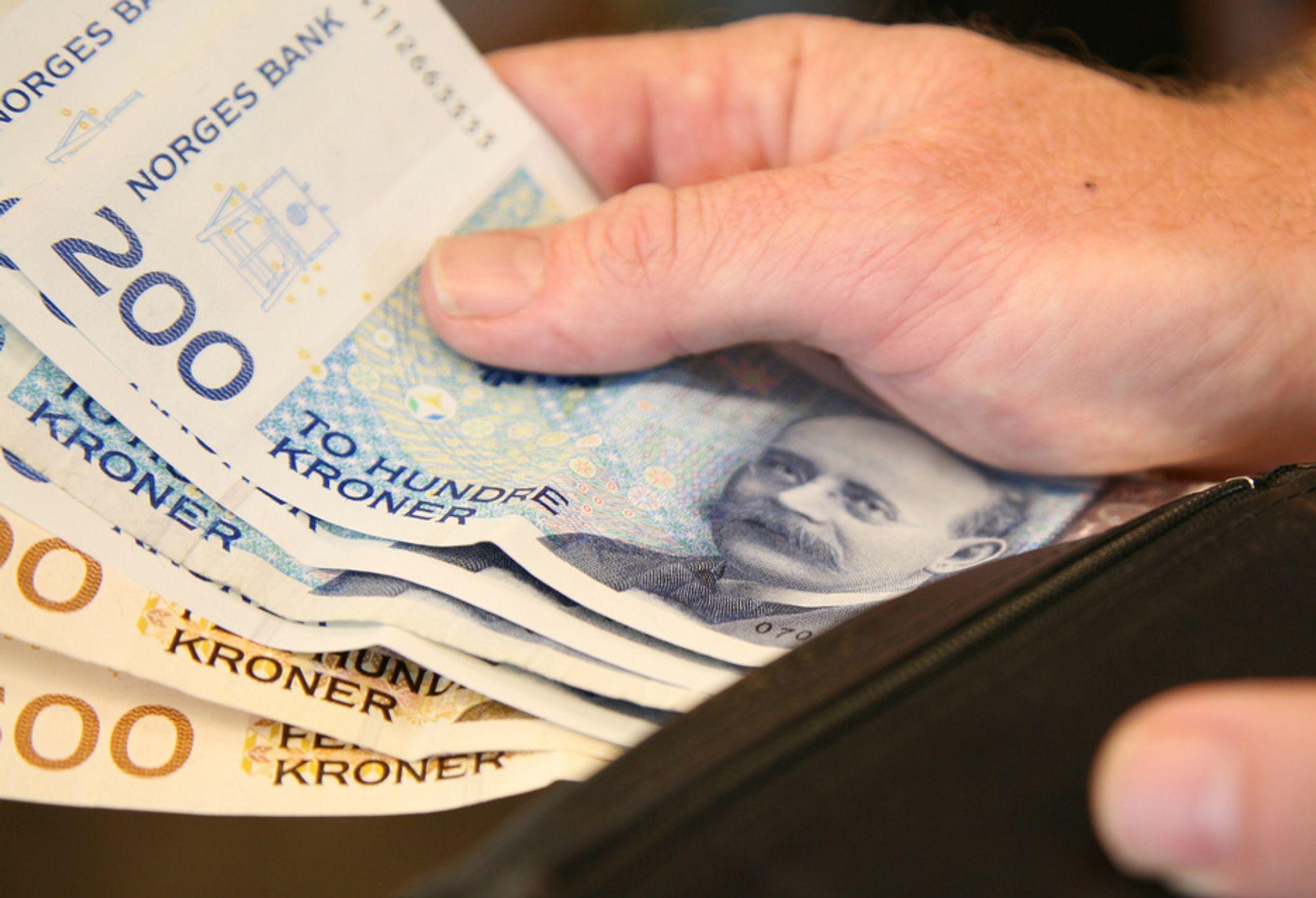 Penger er ikke lett å få tak i i disse dager. Teknologiselskapet ESP får ikke låne 10 millioner, selv om de har signerte statlige kontrakter for 182 millioner.