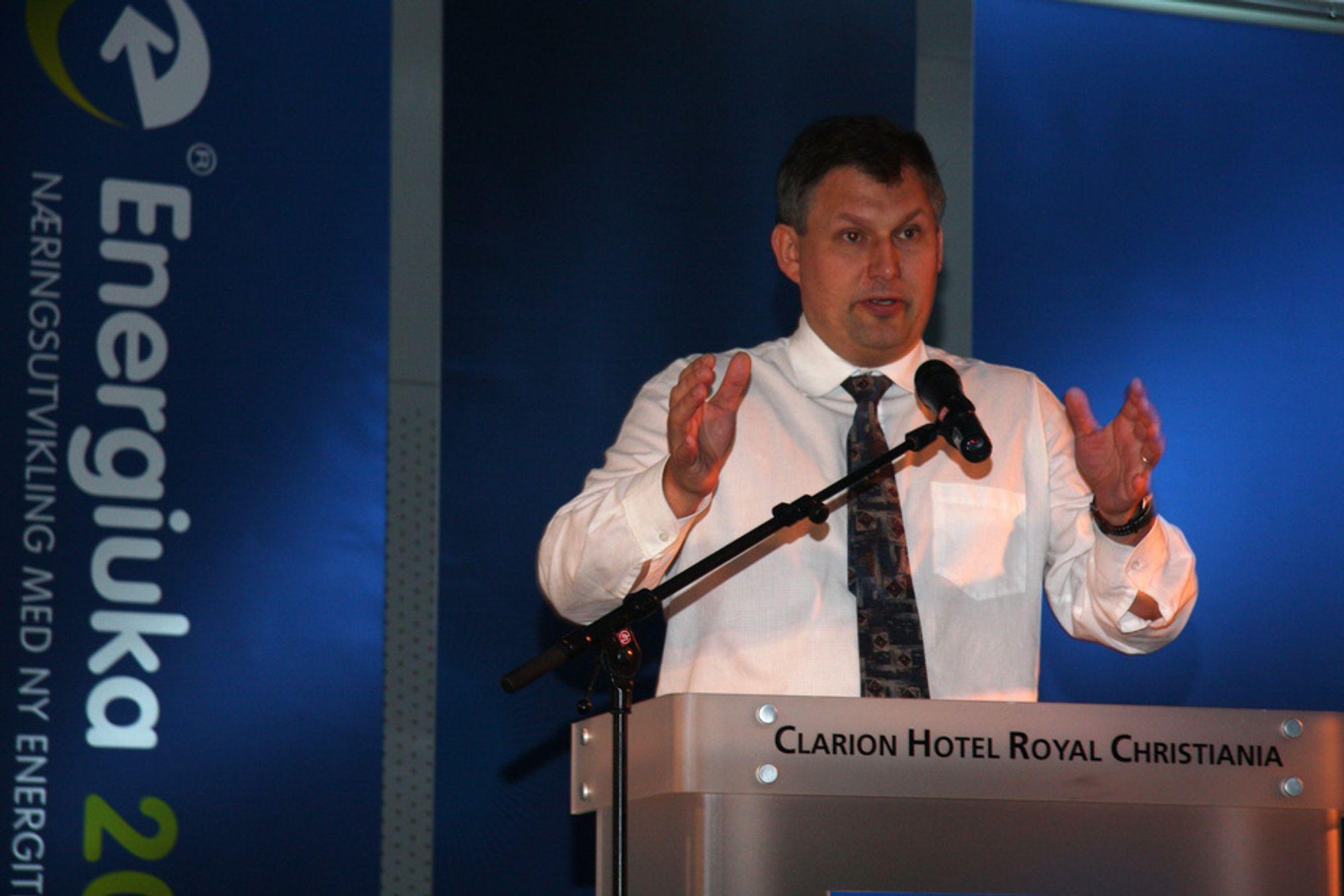 Olje- og energiminister Terje Riis-Johansen offentliggjorde i dag hvilke forskningssentre som får støtte fra staten.
