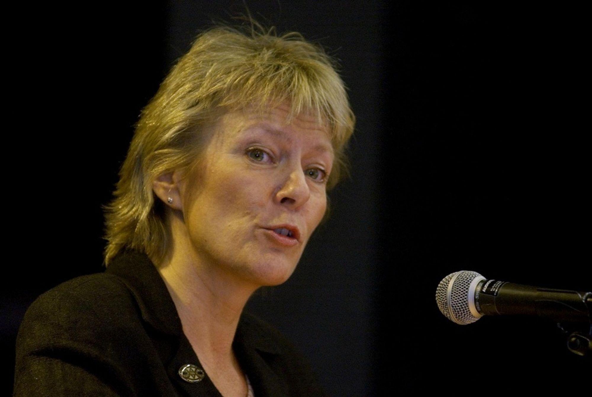 KRITISK: Kristin Clemet er ikke nådig mot norsk arbeidsmoral.