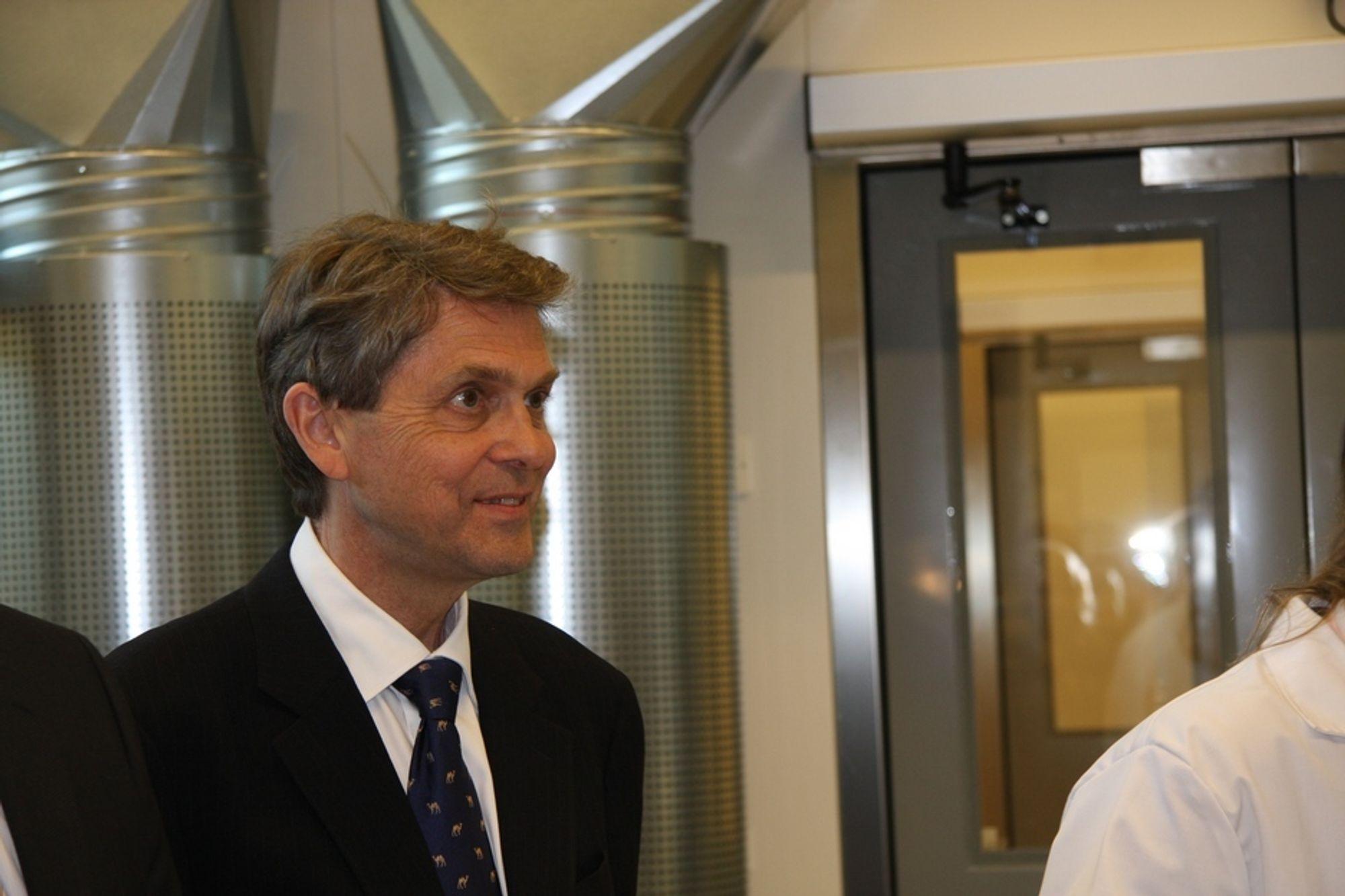 HAR FÅTT NOK: IFE-direktør Kjell Bendiksen gir seg fra 1. mai.
