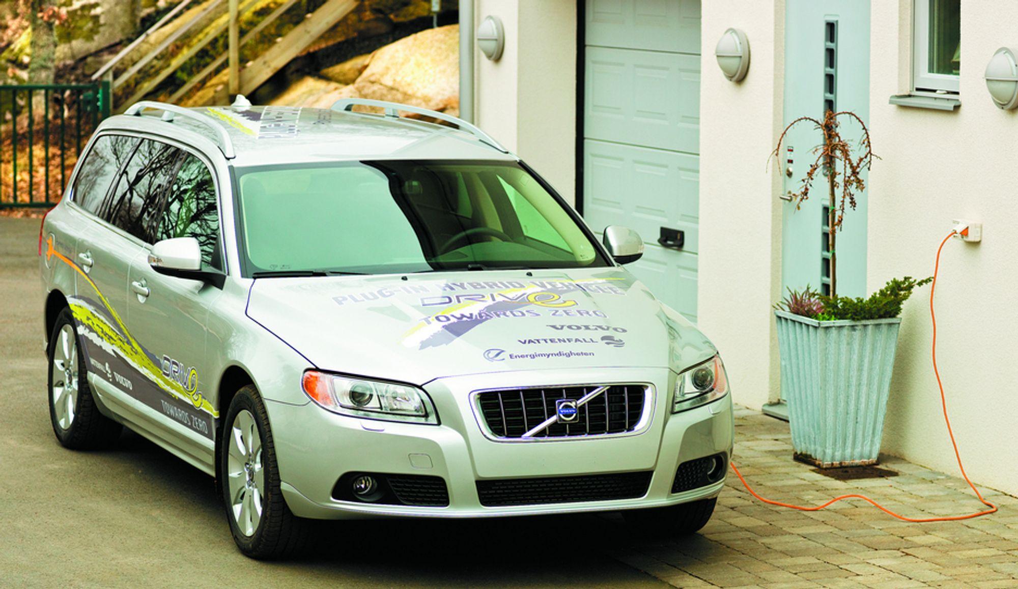 Tidligere i år viste Volvo-ingeniørene fram sin siste bedrift: en ladbar hybrid. Nå er oppdraget å kjøpe Volvo PV.