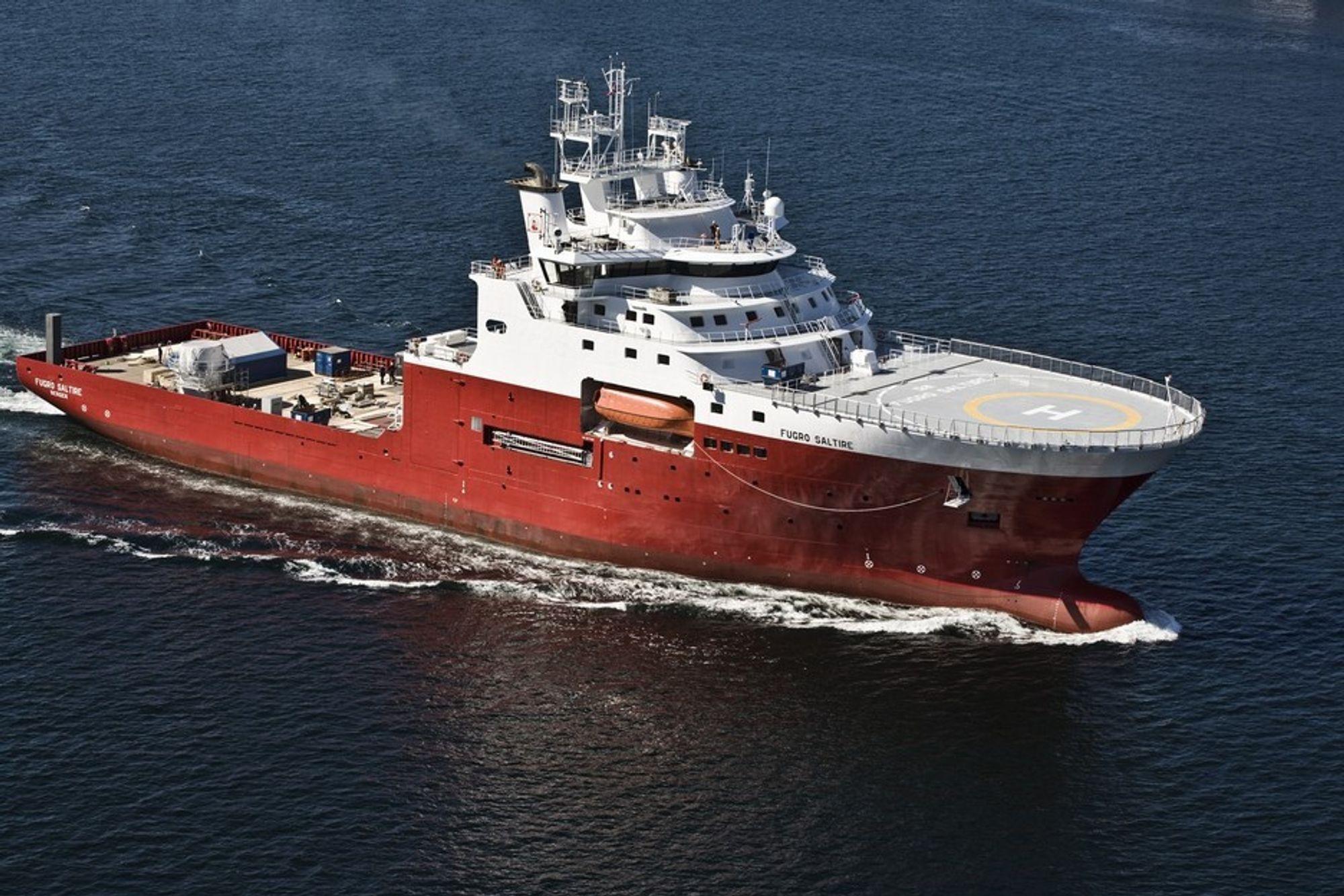 Bergen Group leverte i mai 2008 skipet Fugro Saltire. Nå skal de levere to avanserte trålere\forskningsskip.