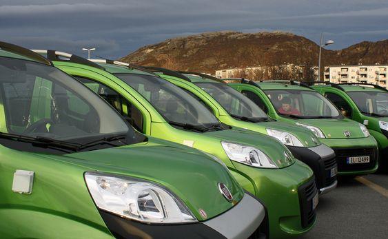 OMBYGD: Moving City tilbyr foreløpig fire forskjellige Fiat-modeller som er konvertert til elektrisk drift.