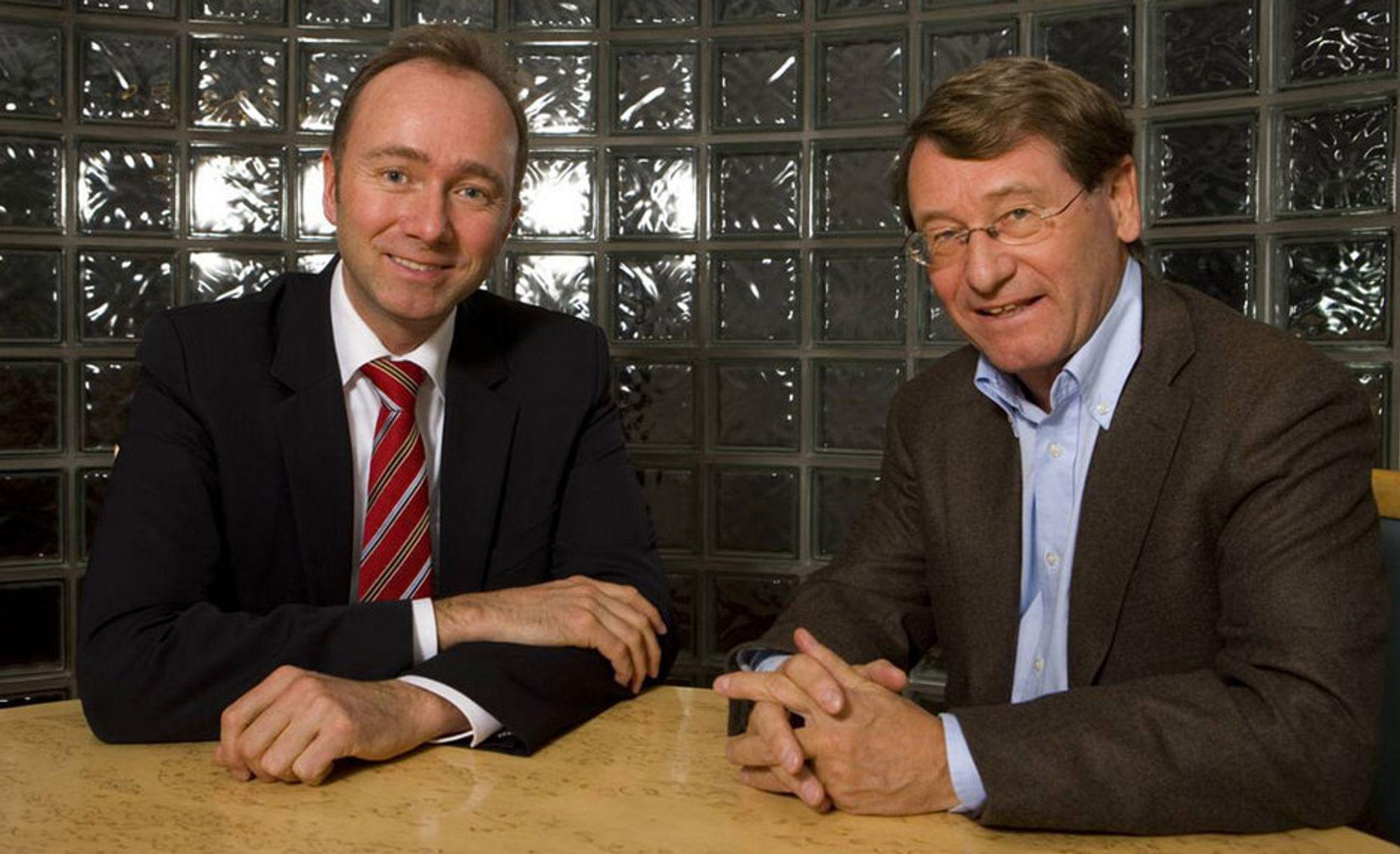 Næringsminister Trond Giske ønsker mer design i norske bedrifter. Administrerende direktør Jan R. Stavik i Norsk Design er enig.