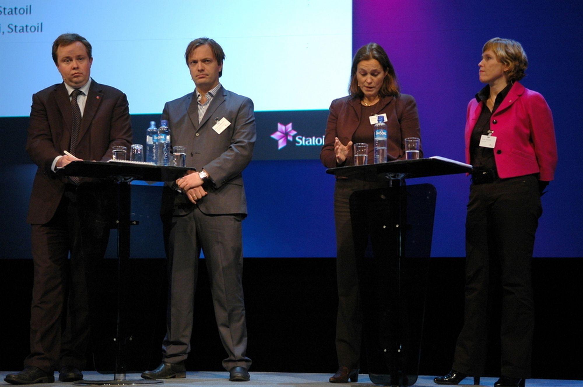 KRITISERER: - Biodieselsaken er en tabbe, sier Statoils Alexandra Bech Gjørv etter regjeringens fjerning av biodieselavgiften. Også Zero er svært kritiske til regjeringens politikk.