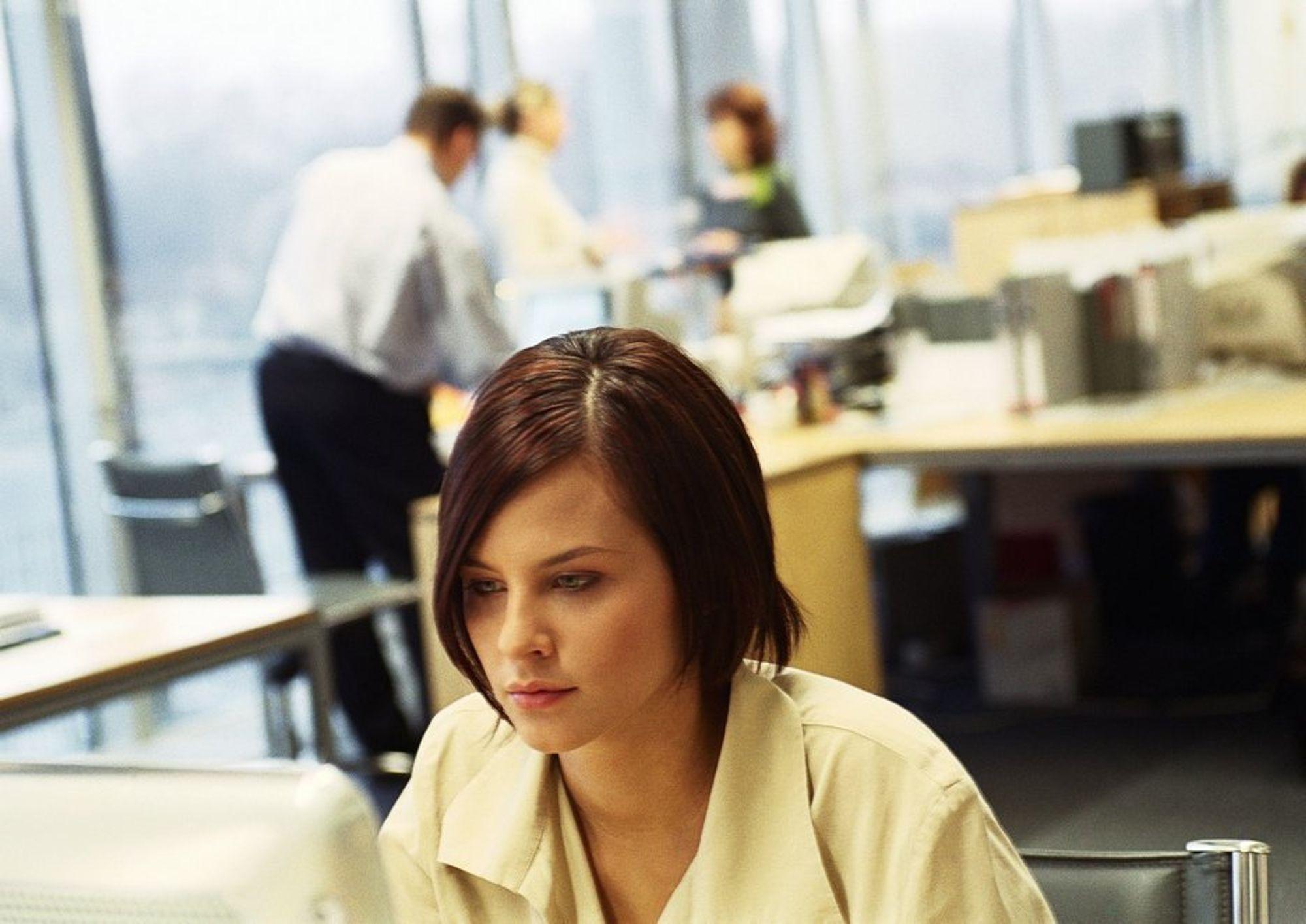 GIDDER IKKE: Hvis de ansatte har lett tilgang til kollegene, forsvinner ansvarsfølelsen for å løse problemene selv.