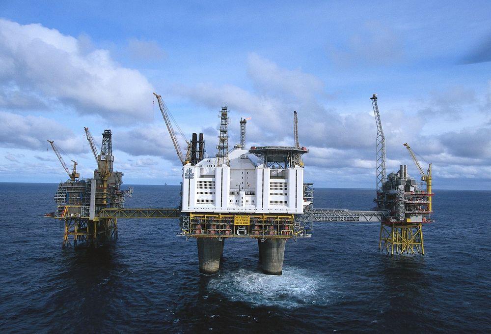 Oseberg-feltet kan produsere langt mer enn tidligere antatt, opplyser Norsk Hydro. Foto: Norsk Hydro