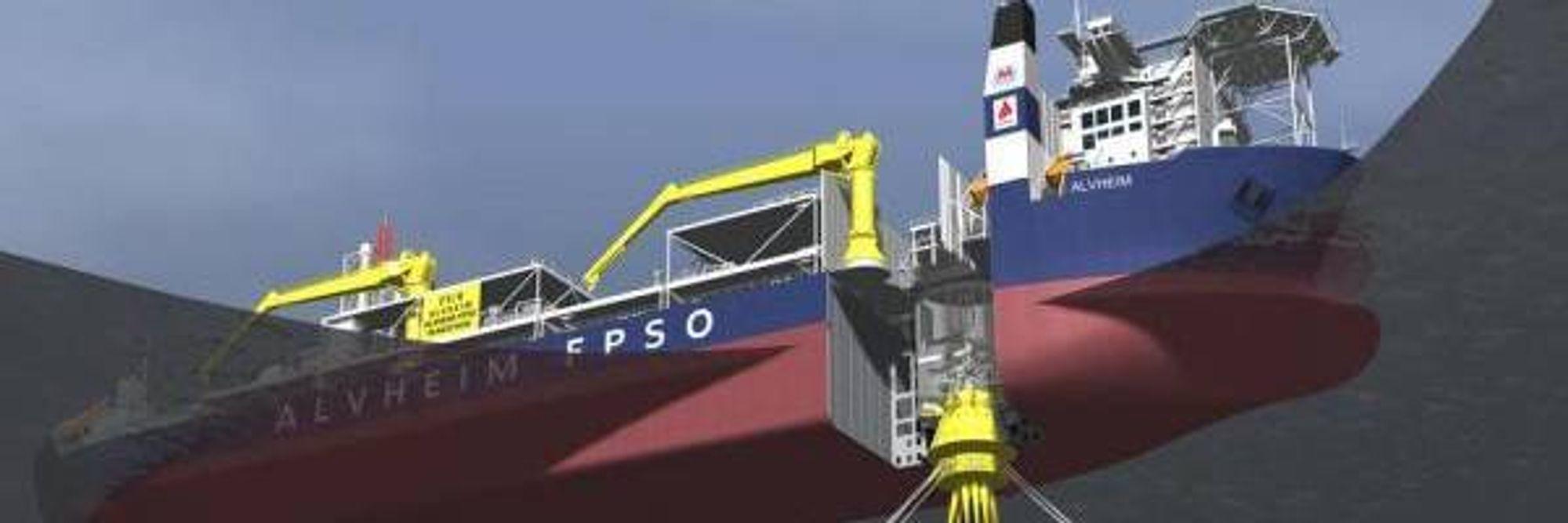 Alvheim FPSO er samlingspunkt for  produksjonen i området, og kan dermed også bli en propp.