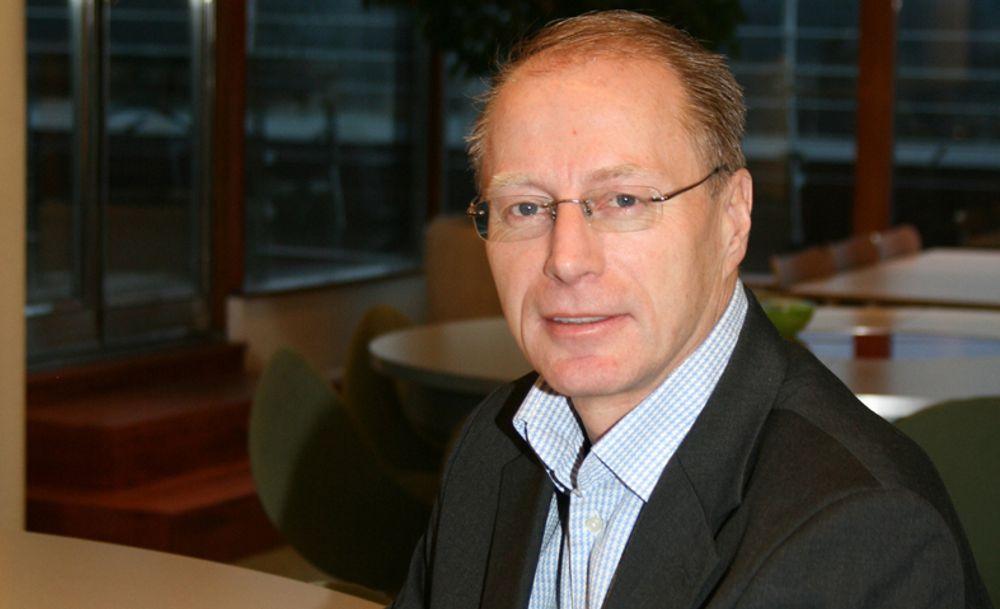 VOKSER: - UCO er i en sterk ekspansjon på landsbasis, sier administrerende direktør Bjørn E. L. Larsen.