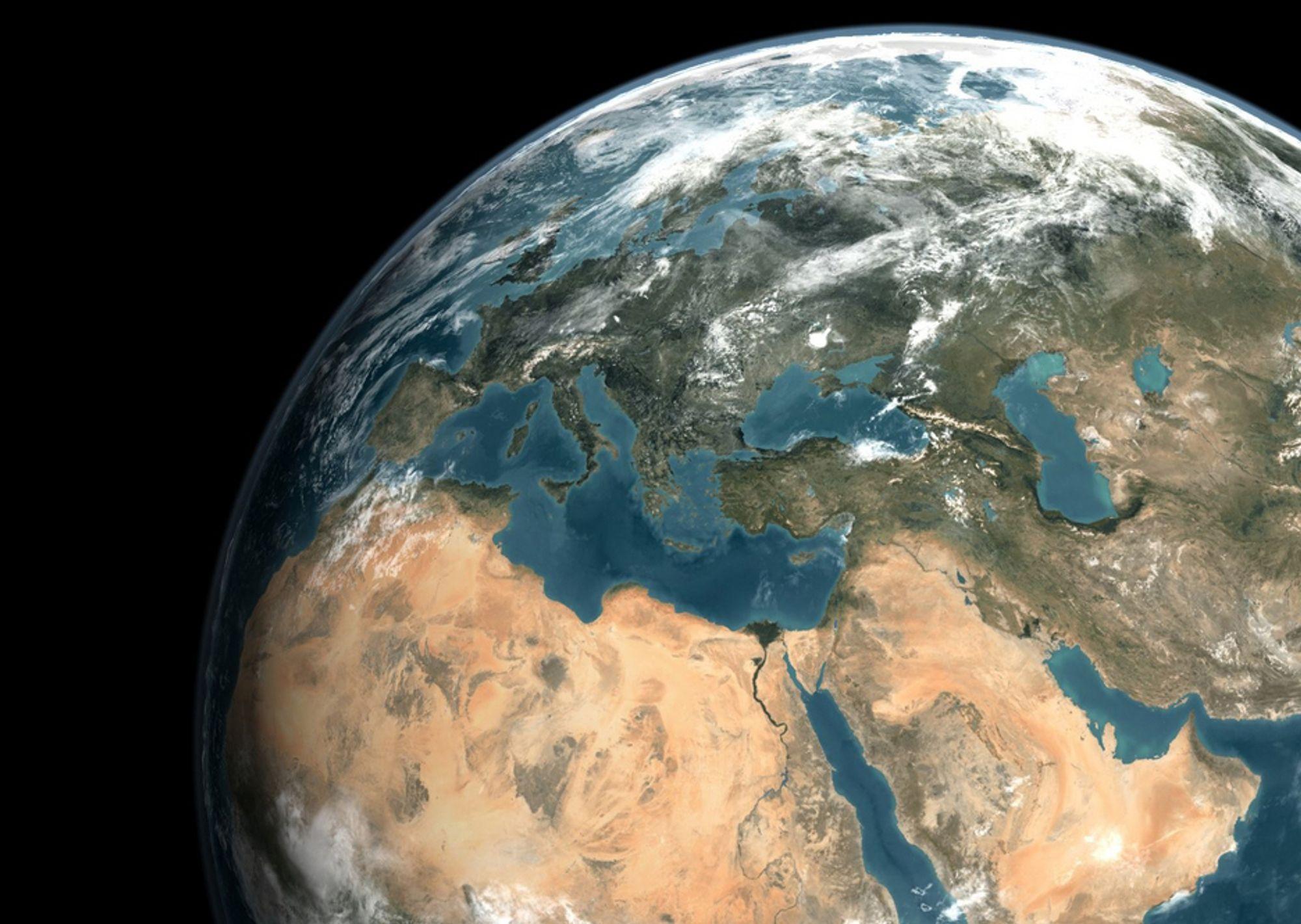 ENGASJERER SEG: ¿ Alle industriland, men først og fremst de store, er ansvarlige for krisen med global oppvarming, sier bin Laden.