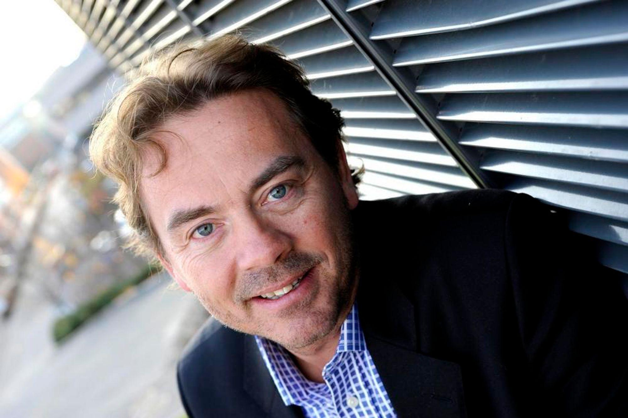 Salgs- og markedsdirektør Terje Kaasa,  Agresso AS.