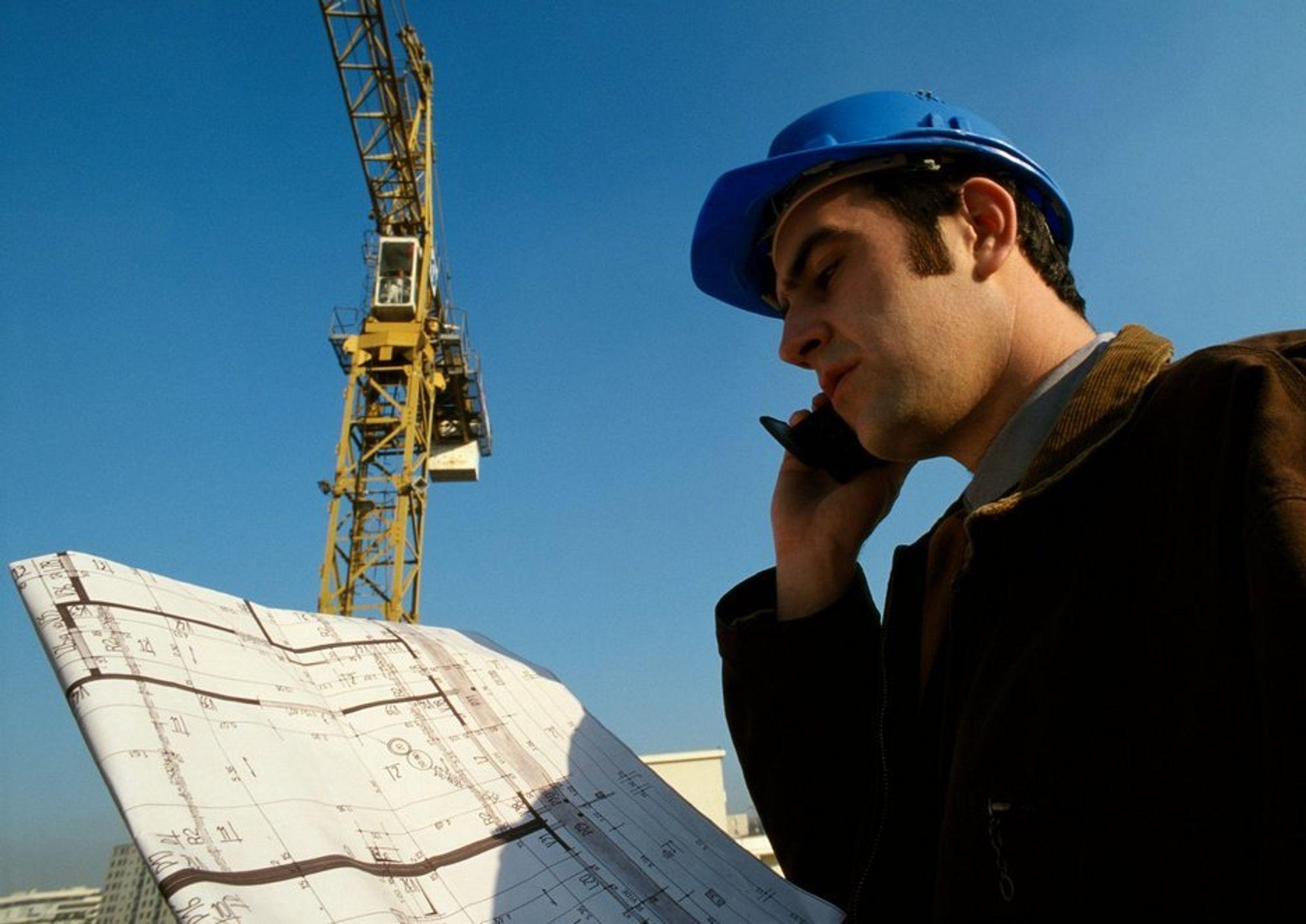 Ingeniør. Sivilingeniør. Bygg og anlegg. Industri. Prosjektering. Byggeplass. Arbeidsmarked. Jobb. Lønn.