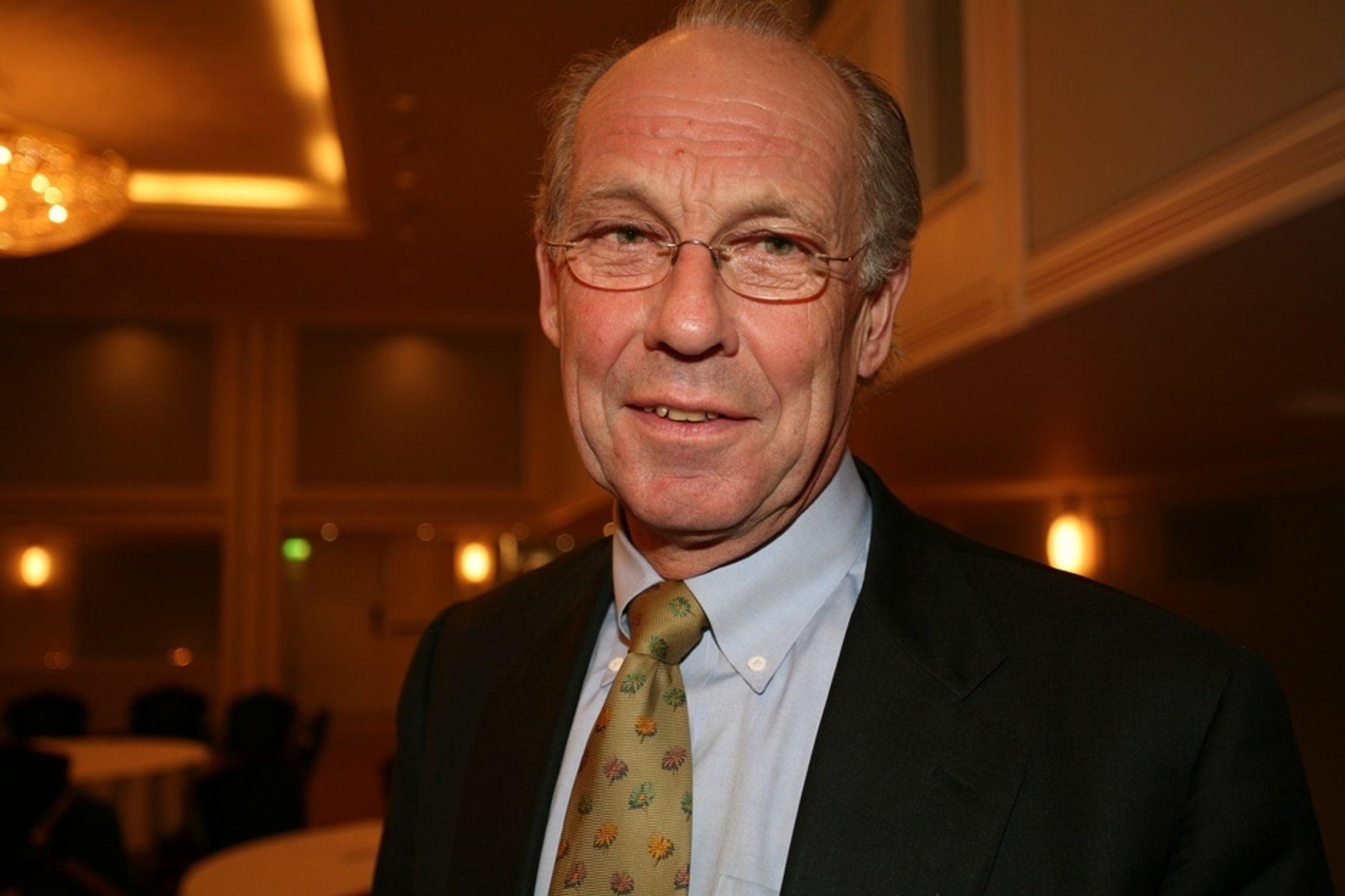 OPPFORDRER: Lavutslipputvalgets leder, Jørgen Randers, sier det er viktig at byggenæringen deltar for å bli kvitt klimautfordringene.