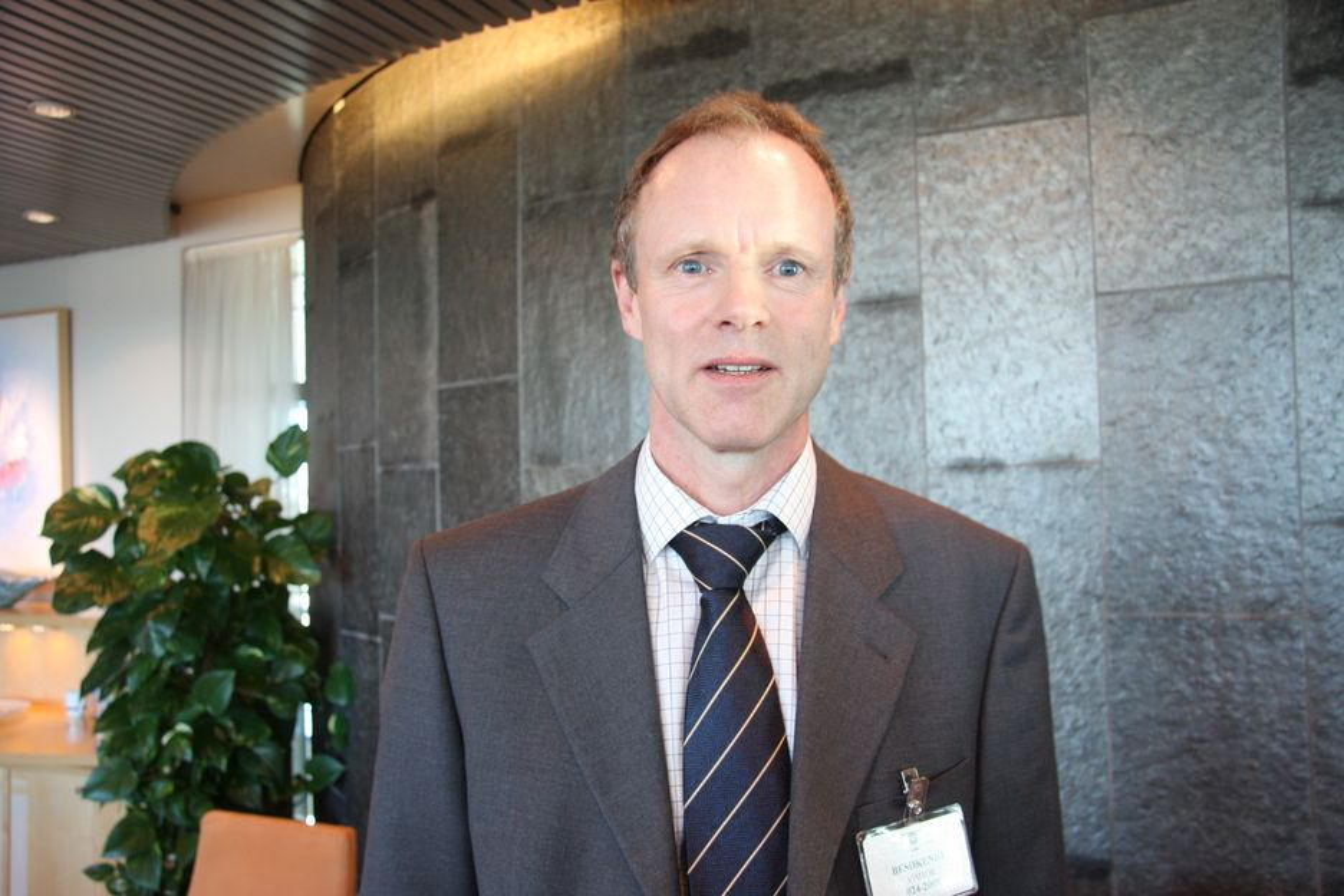 RAMMES: Administrerende direktør i Norges Rederiforbund mener at shippingrelaterte næringer rammes ekstra hardt av finanskrisen.
