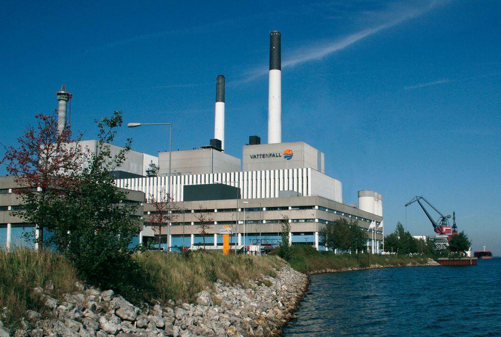 TRENGER KULL: Vattenfall-sjefen tror vi trenger kull i 50 år til, og mener CO2-fangst og lagring må til. Det kull- og oljefyrte Amagerverket i Danmark leverer 494 MW elektrisitet og 710 MJ/s varme.