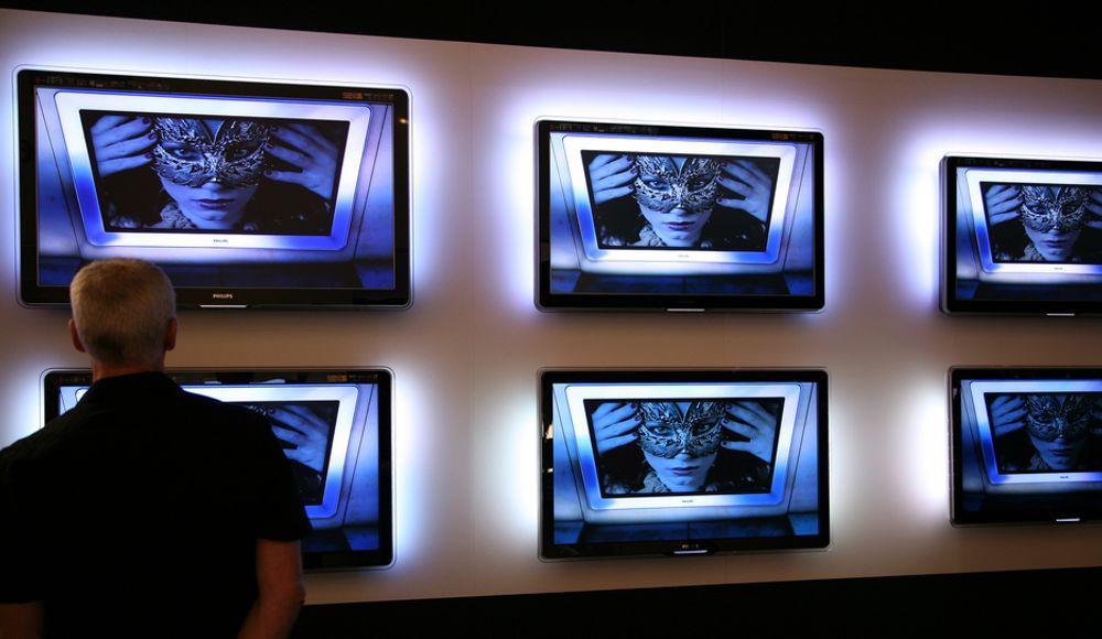 Stiftelsen Elektronikkbransjen kommer nå med en egen energioversikt for TV-er og TV-bokser. (Illustrasjonsfoto)