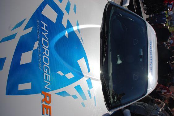 Mazda RX-8 hydrogenbil