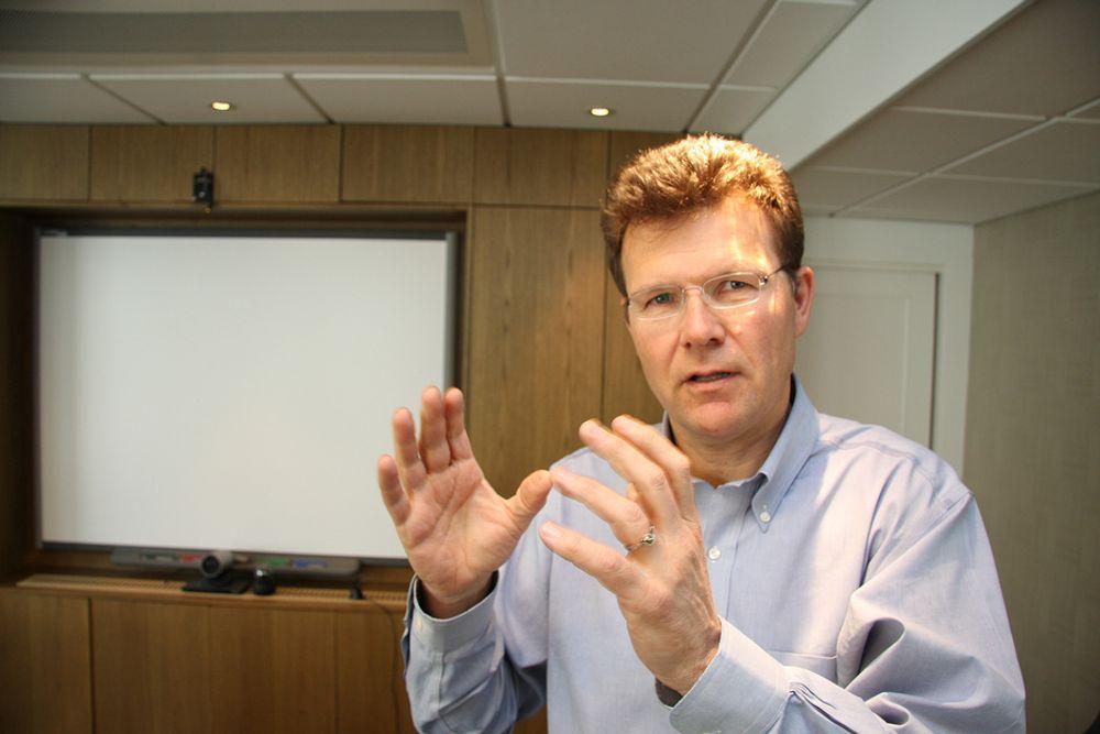 FORSTÅR: Ivar Fossum i Nordic Mining skjønner folks bekymring for gruvedriften.