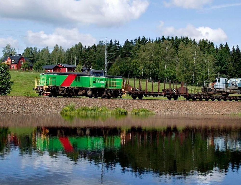 Miljø: IT-systemene som EDB utvikler for transportselskapet Green Cargo skal være miljømessig bærekraftige.