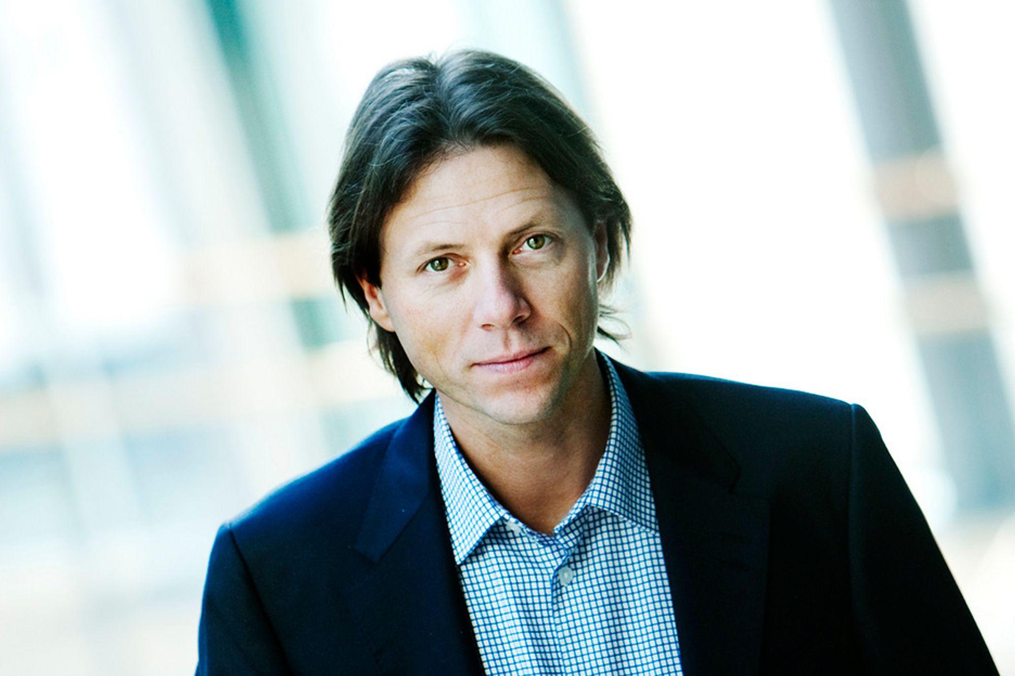 Administrerende direktør i Canal Digital, Svein Erik Davidsen, har lansert TV-tilbud til hyttefolket.