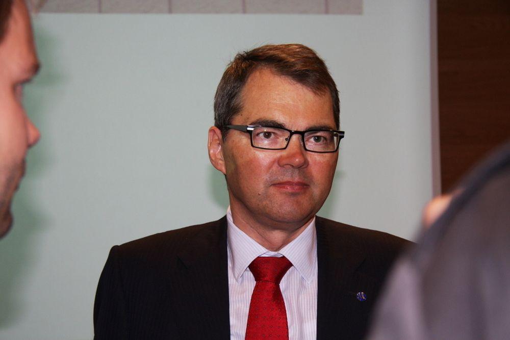 VELUTDANNET: Hydro-sjef Svein Richard Brandtzæg er blant topplederne som har mer enn én utdannelse. Han har en doktorgrad i kjemi fra NTNU og er utdannet bedriftsøkonom fra BI.