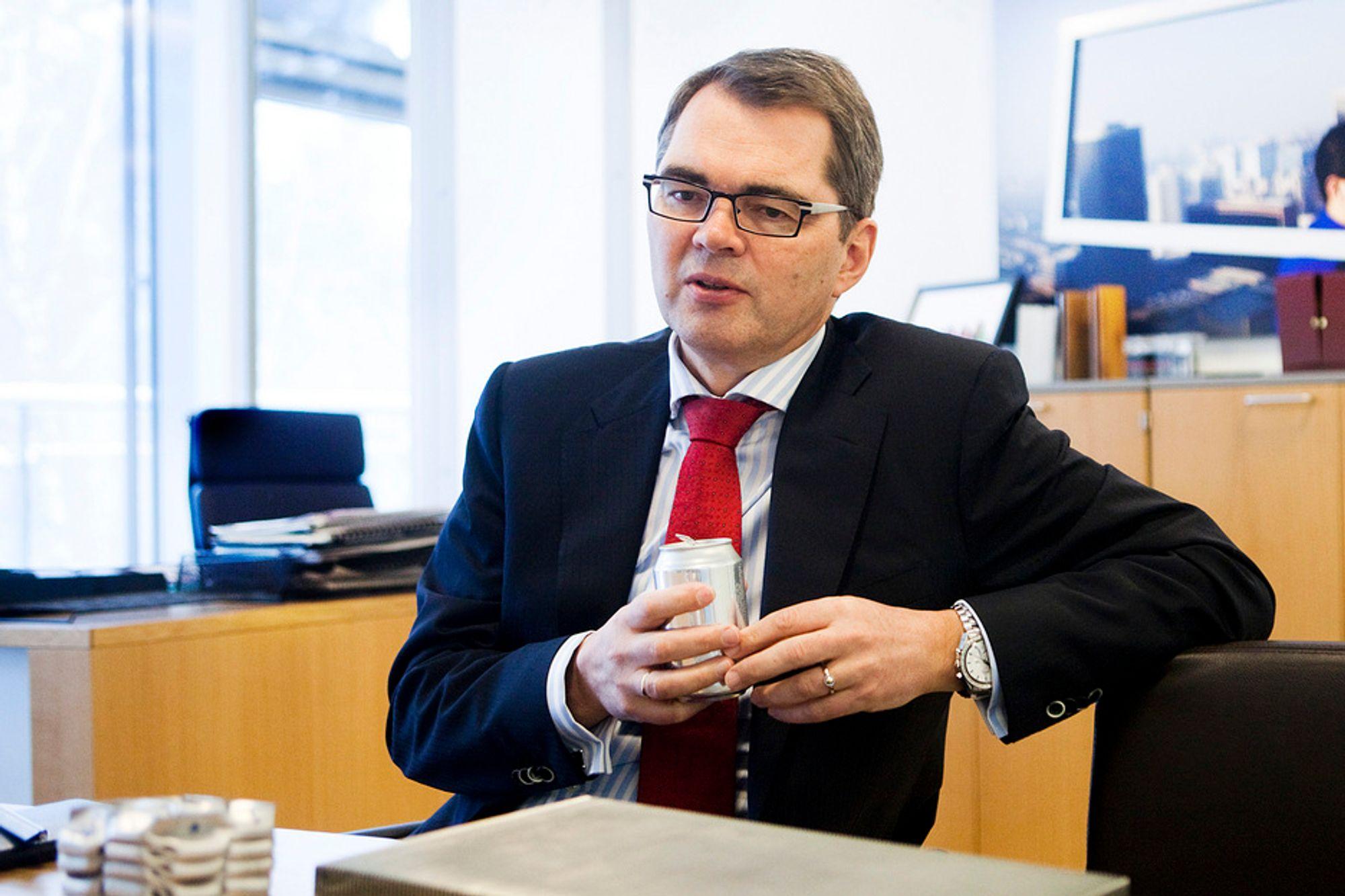 TAPER: Norsk Hydro taper fortsatt penger. Lave aluminiumspriser og lav etterspørsel får skylda.