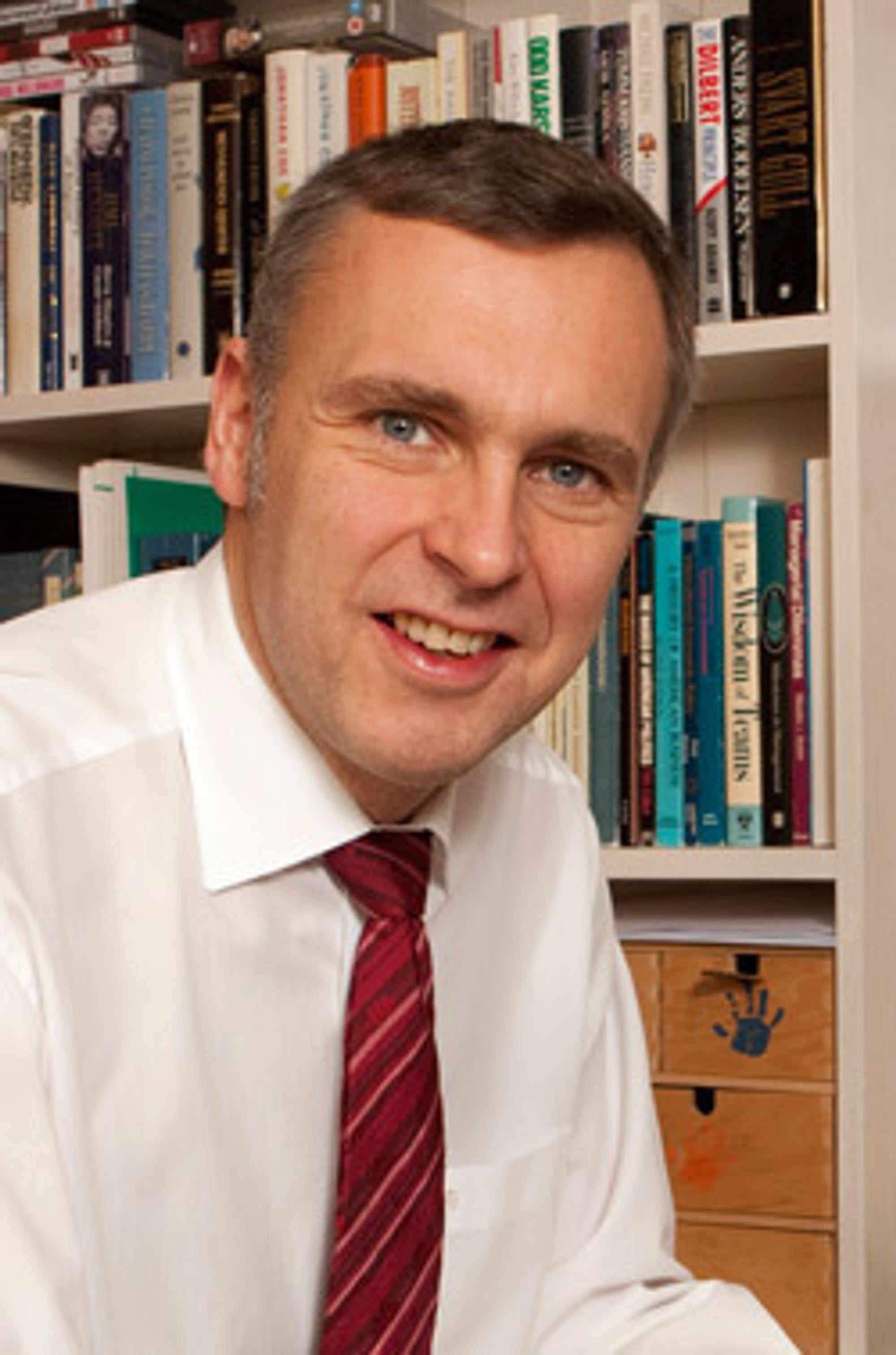 Sven Ombudstvedt blir ny konsernsjef i Norske Skog. Han tiltrer allerede 1. januar.