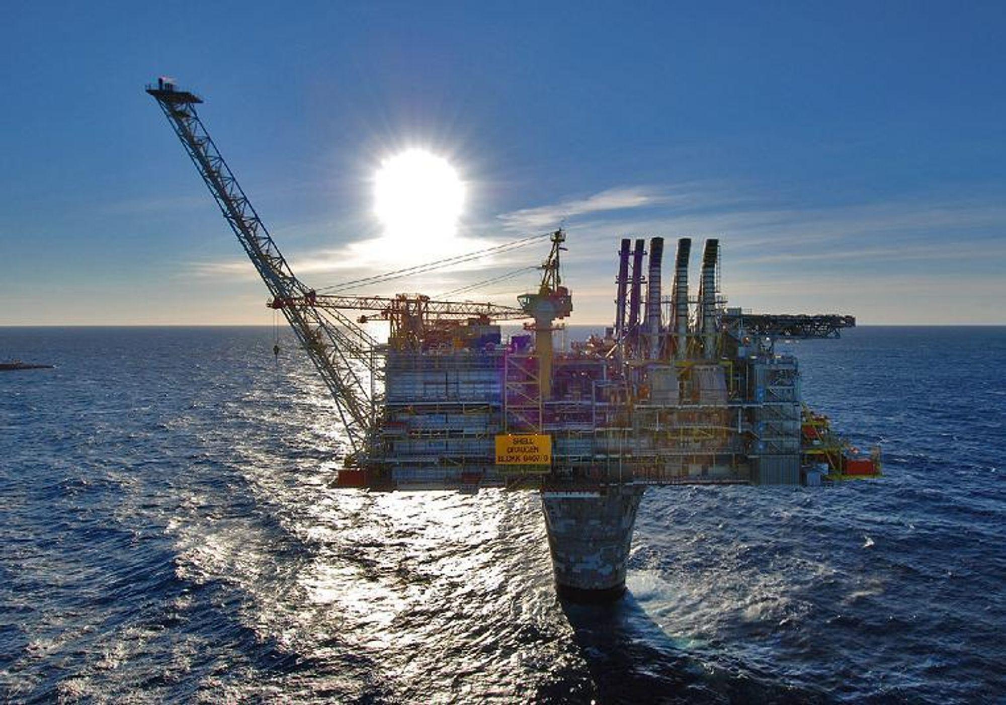 MER MILJØVENNLIG: Shell vil reinjesere produsert vann fra Draugen-plattformen.