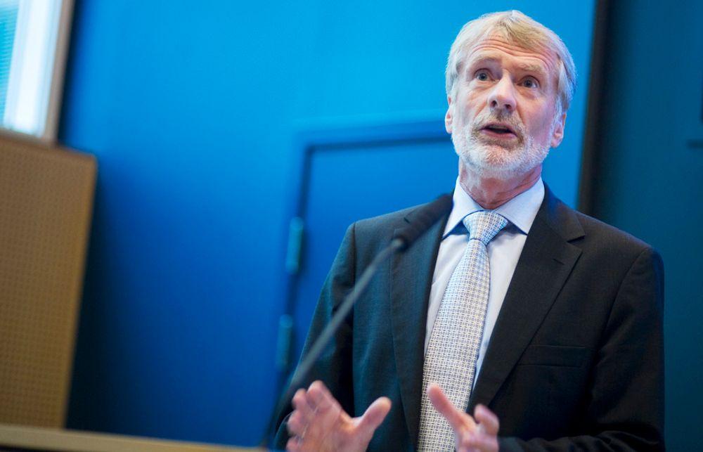 Statkrafts konsernsjef Bård Mikkelsen mener fjorårets resultat er akseptabelt, i lys av den økonomiske situasjonen.