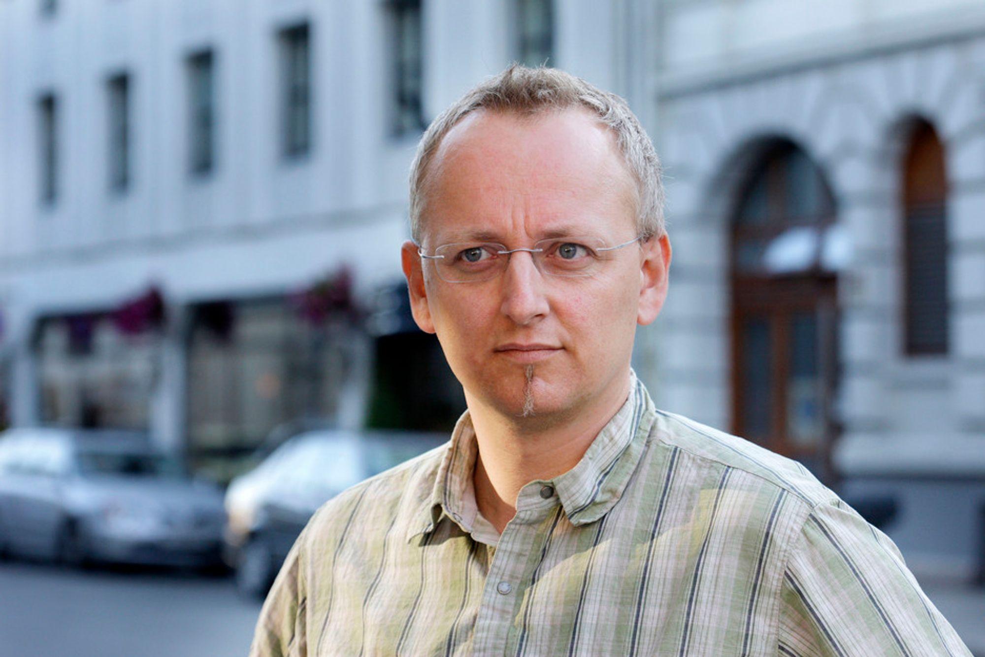NEI TIL OLJE: Stormberg-eier Steinar J. Olsen ønsker å styrke Natur og Ungdom i kampen mot oljeboring i Lofoten, og gir organisasjonen 50 000 kroner. Han oppfordrer andre næringslivsfolk til å gjøre det samme, etter modell av aksjonen for Frp nylig.
