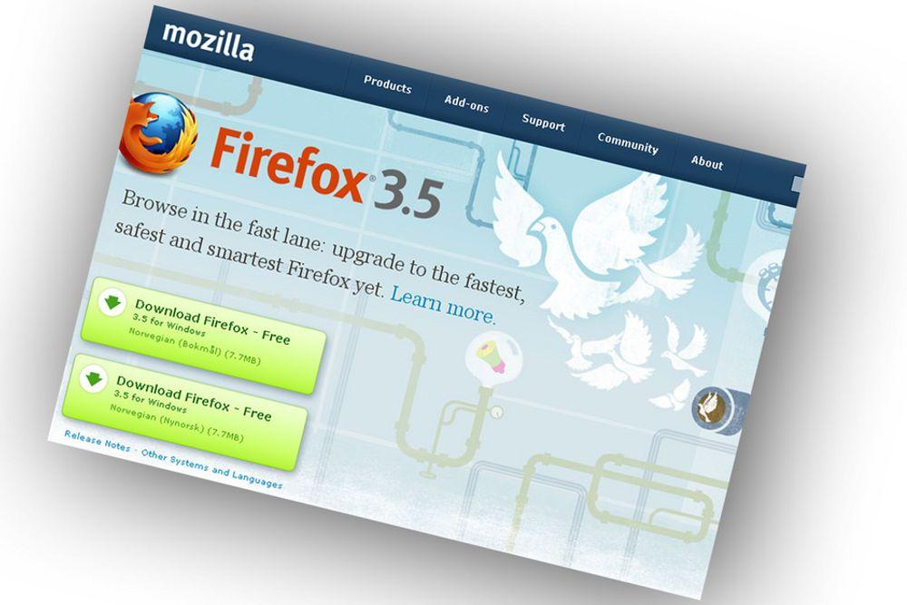 Firefox 3.5 stjeler flittig blant annet fra Google Chrome, men lover også å ha blitt mye raskere.