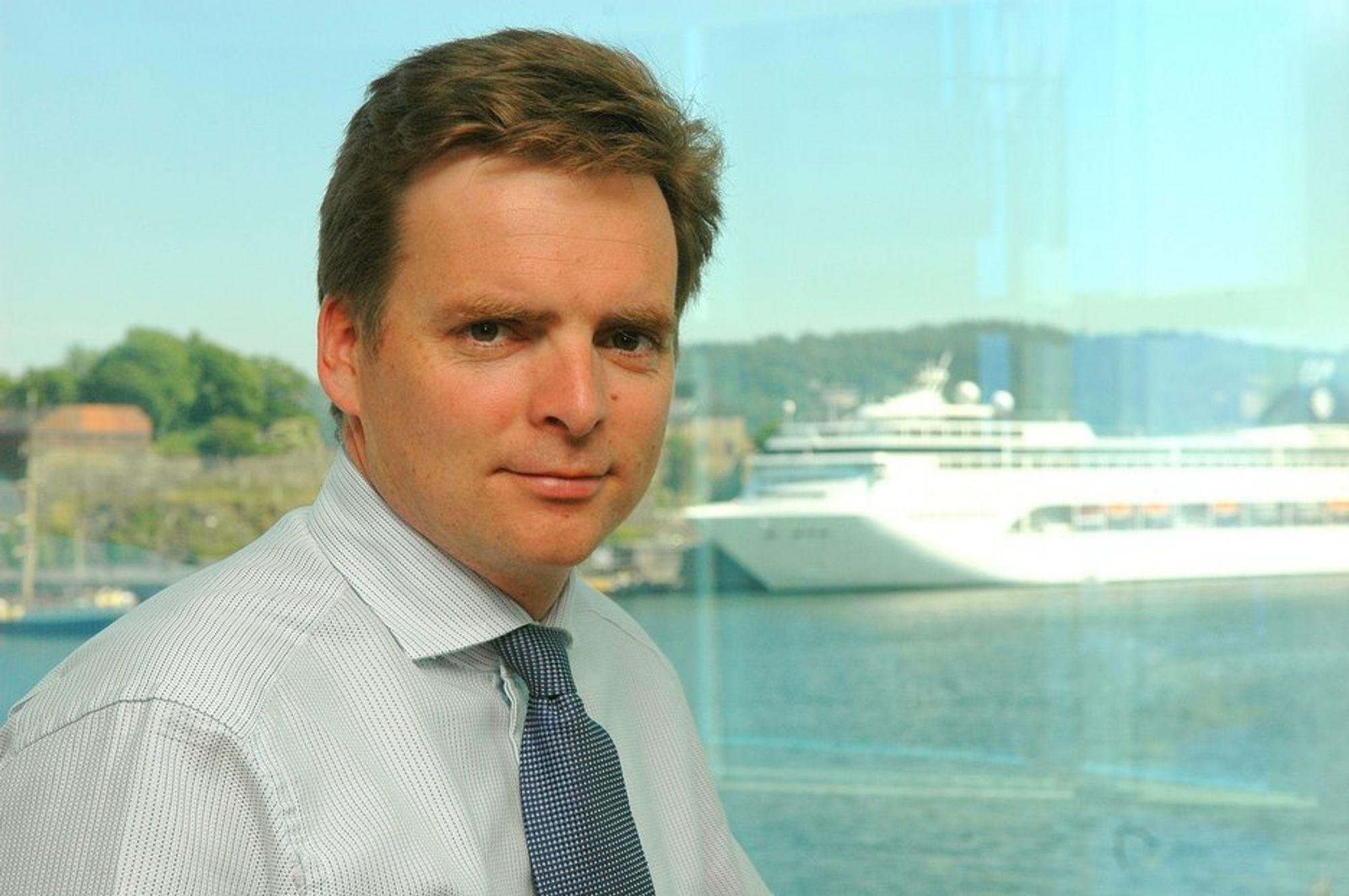 UNIKE MULIGHETER: ¿ Vi må våge å si at vi skal bli verdens beste skipsfartsnasjon, sier Karl Erik Kjelstad.