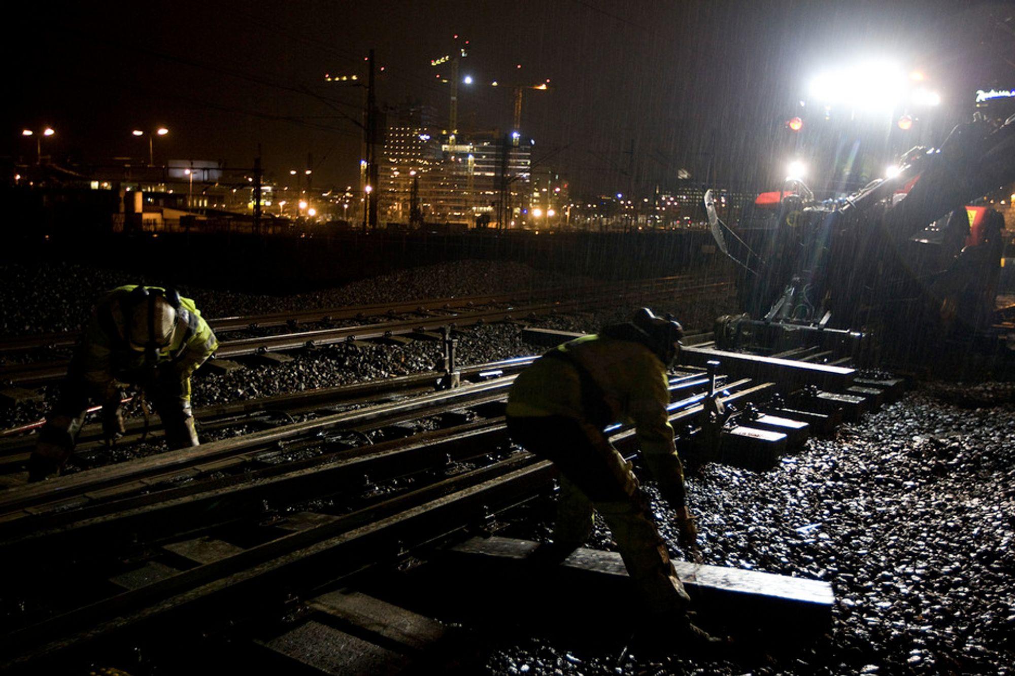 Jernbanenettet har blitt i enda dårligere forfatning under en rødgrønn regjeringen som skryter av sin jernbanesatsing.