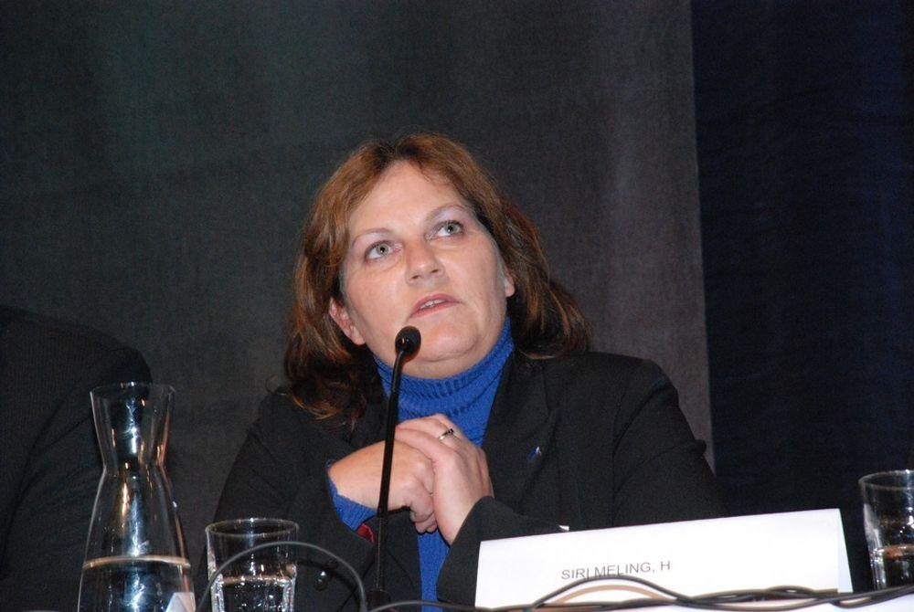 ANGRIPER AP: Arbeiderpartiet er altfor defensiv i sin kabelpolitikk, mener Høyres energipolitiske talskvinne Siri A. Meling.