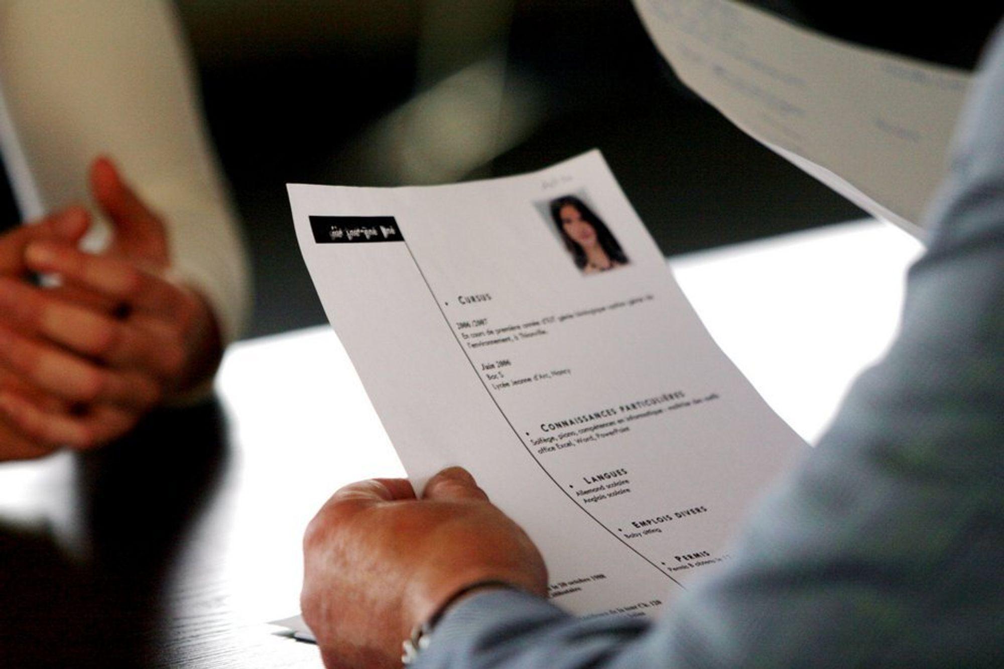 TALL: Hvilke egenskaper du oppgir på CV-en kan ha stor betydning.