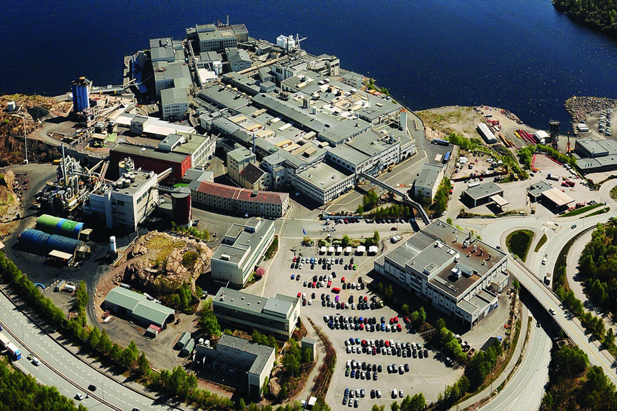 SAMARBEIDER: Xstrata i Kristiansand er den største bedriften i nettverket, som til sammen teller 12 prosessindustribedrifter.